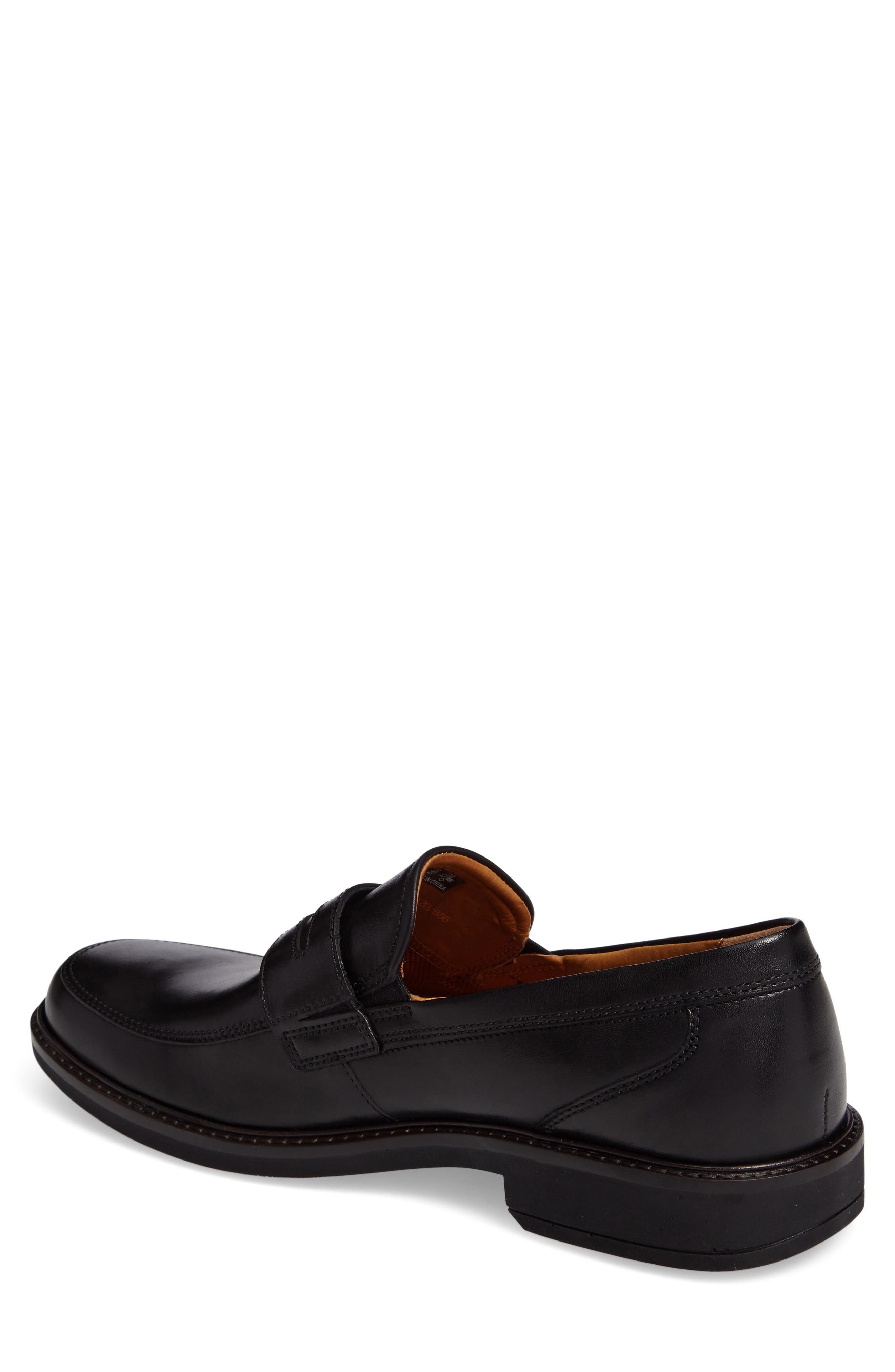 Holton Penny Loafer,                             Alternate thumbnail 2, color,                             Black
