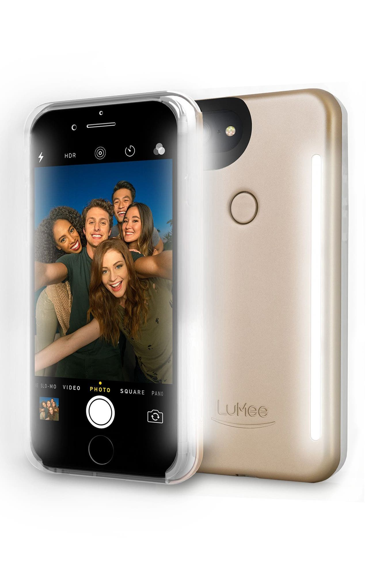 LUMEE Duo LED Lighted iPhone 6/7 & 6/7 Plus Case
