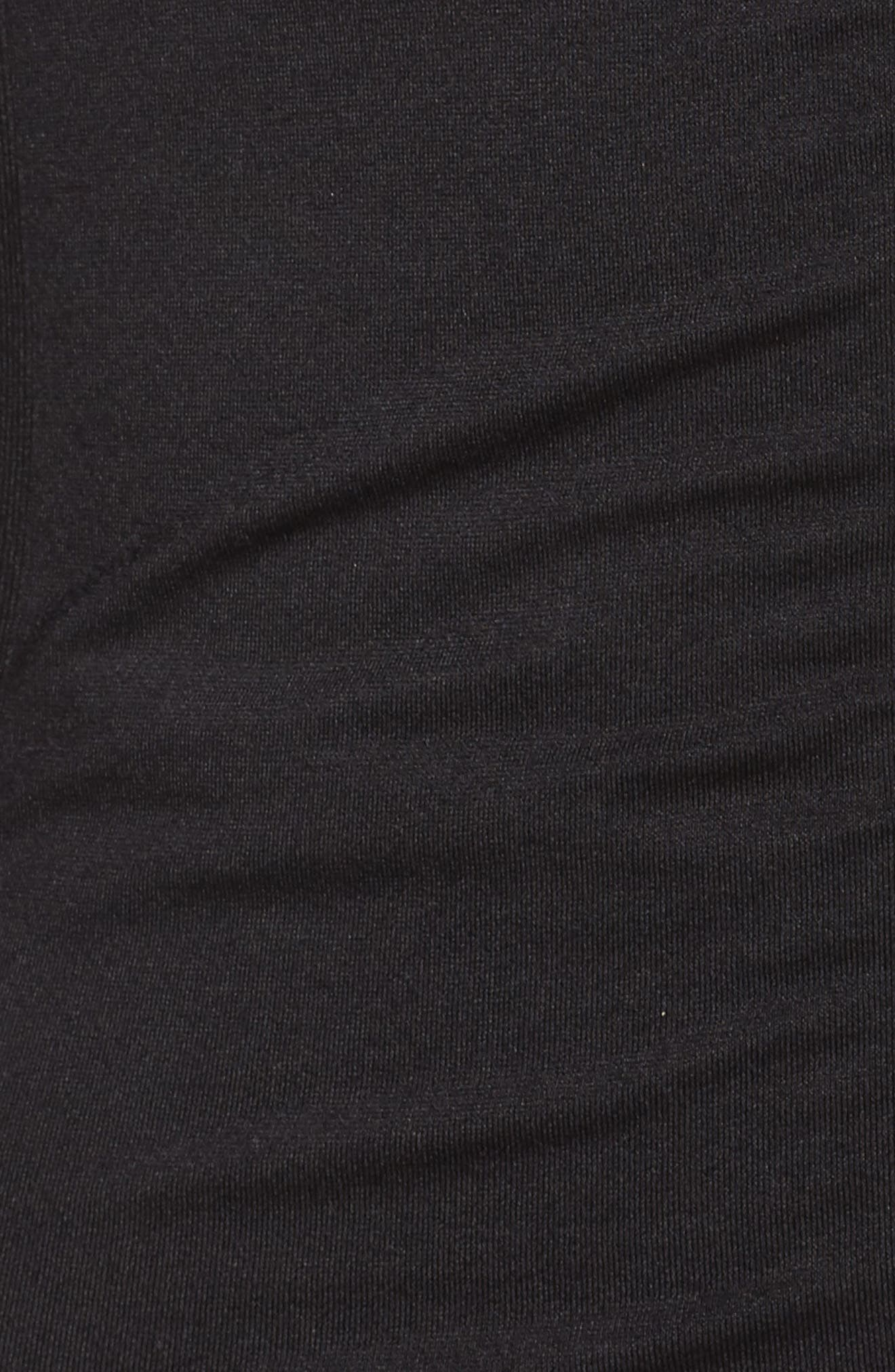 Finish Line Jacket,                             Alternate thumbnail 6, color,                             Solid Black