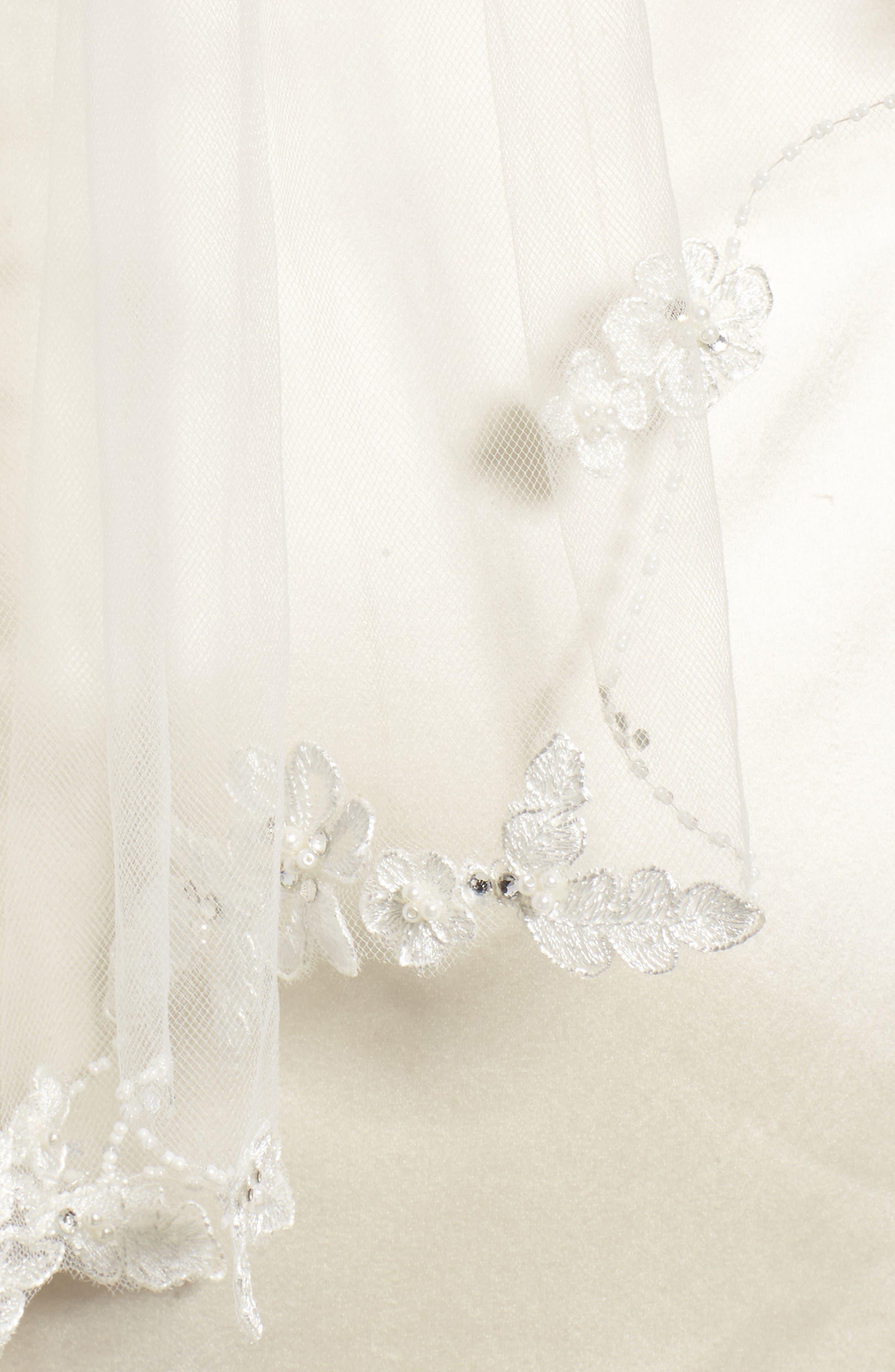 Alternate Image 4  - Brides & Hairpins Mikaela Embellished Veil