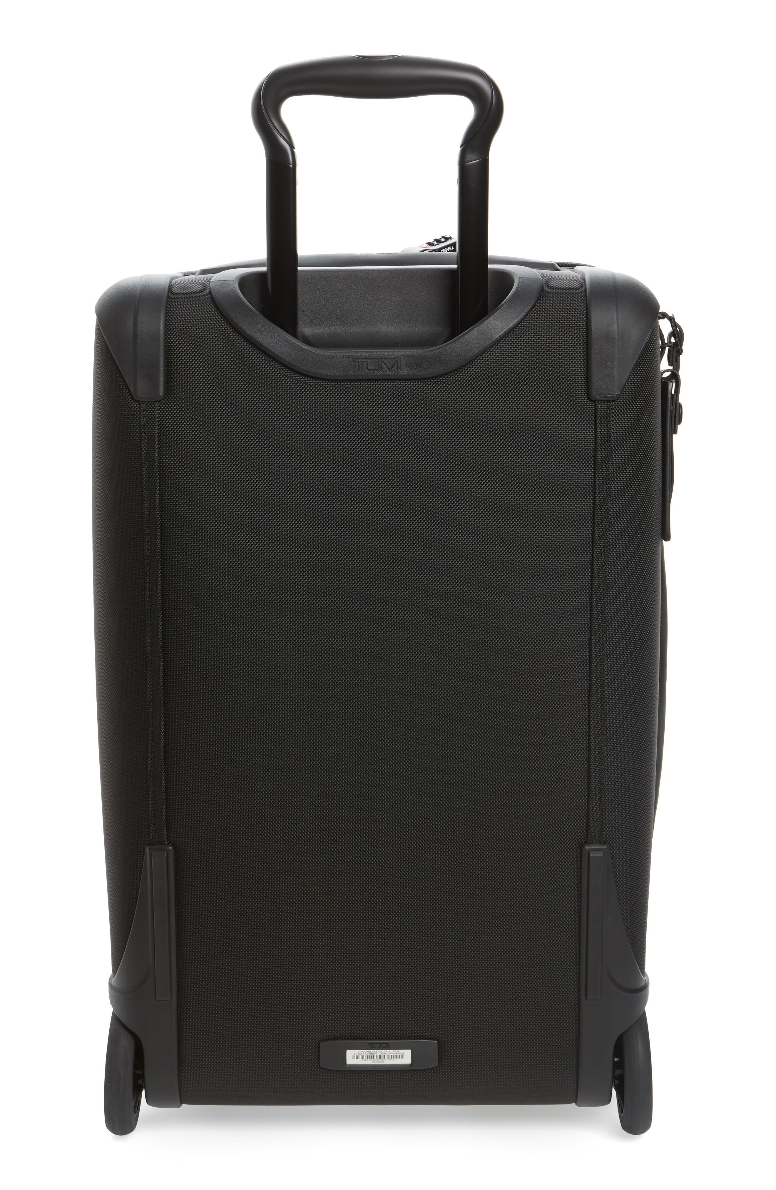 Alpha 2 22-Inch International Carry-On,                             Alternate thumbnail 7, color,                             Black