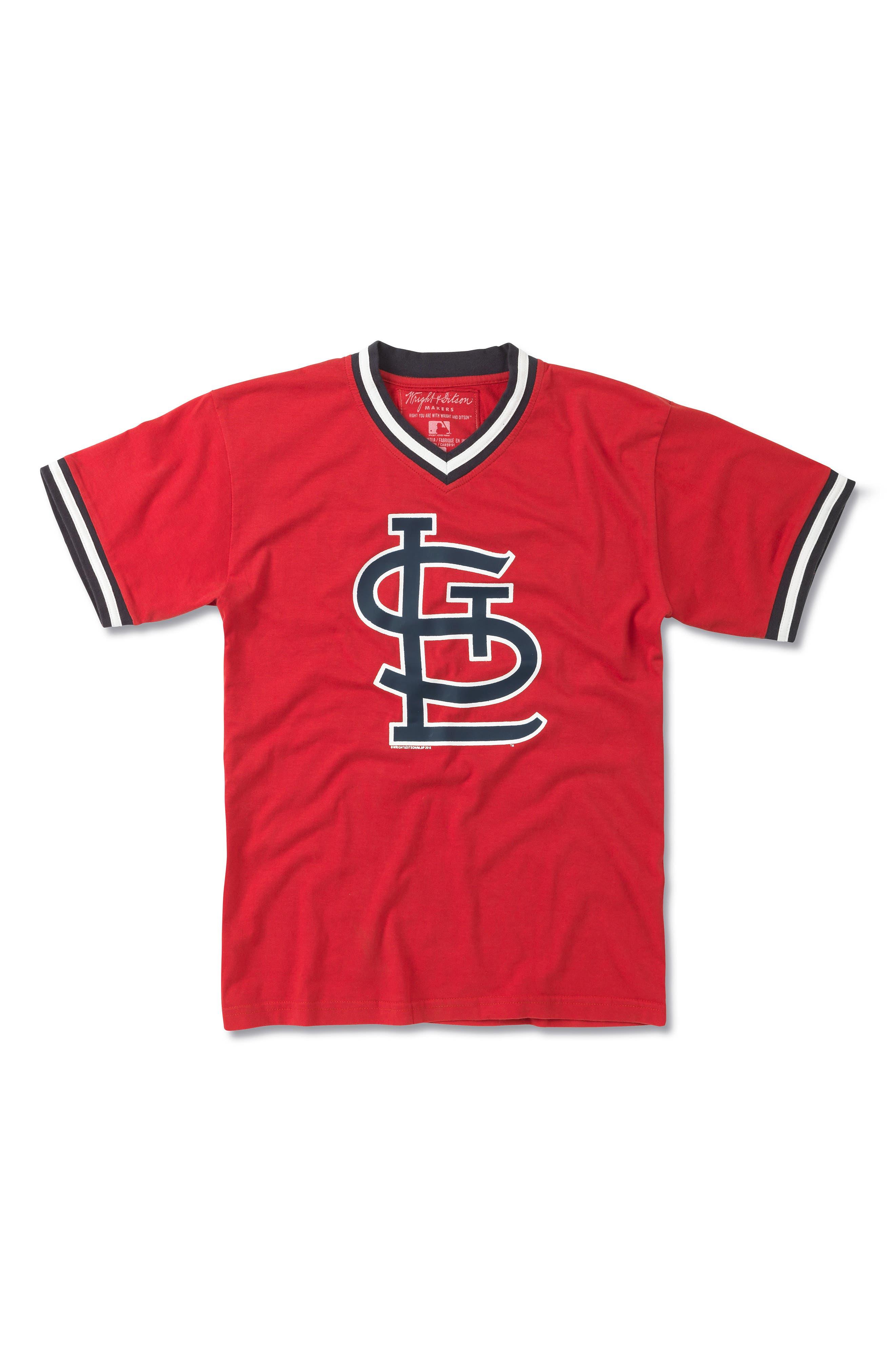 Alternate Image 1 Selected - Wright & Ditson St. Louis Cardinals T-Shirt (Little Boys & Big Boys)