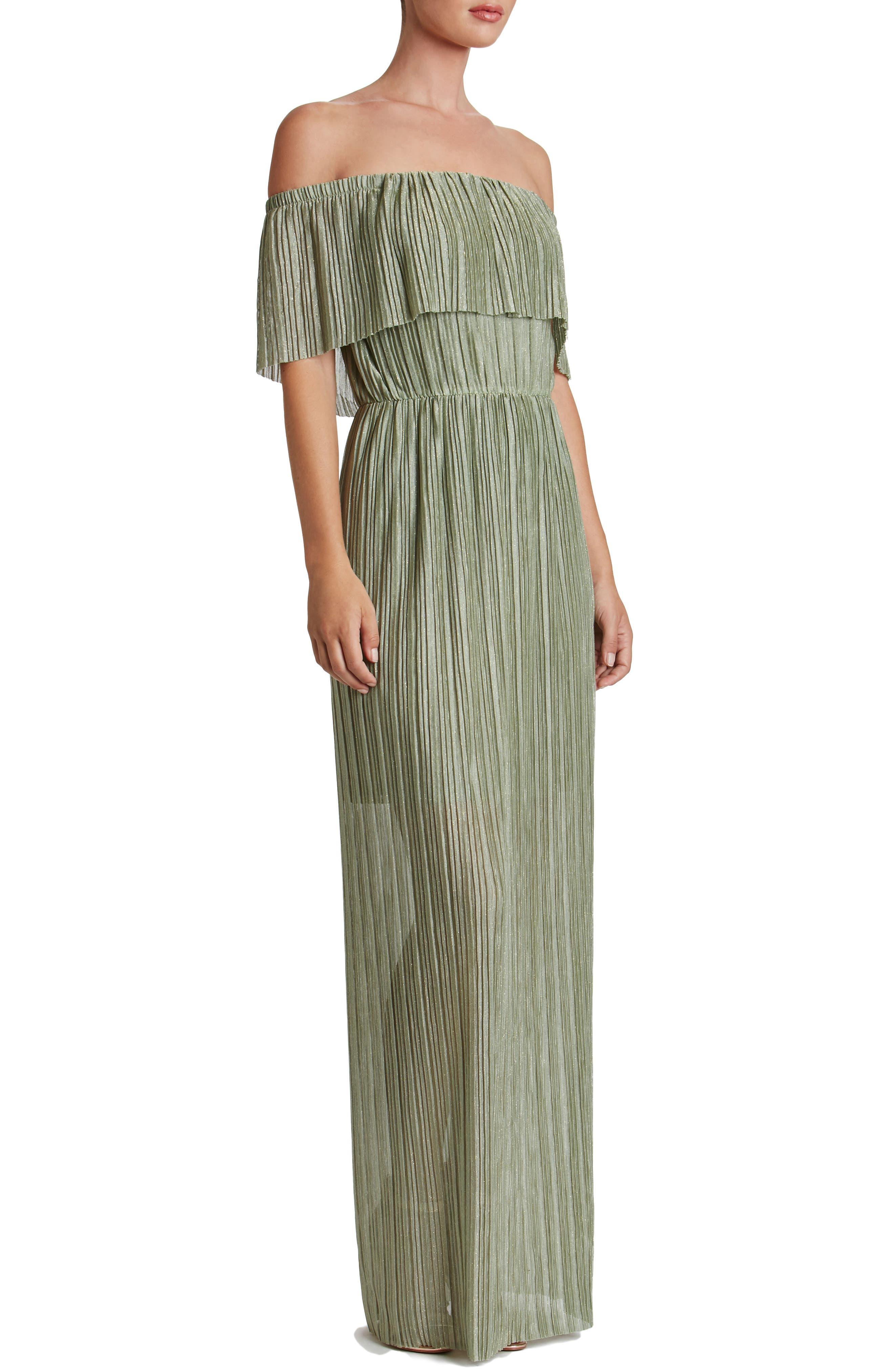 Alternate Image 3  - Dress the Population Athena Maxi Dress