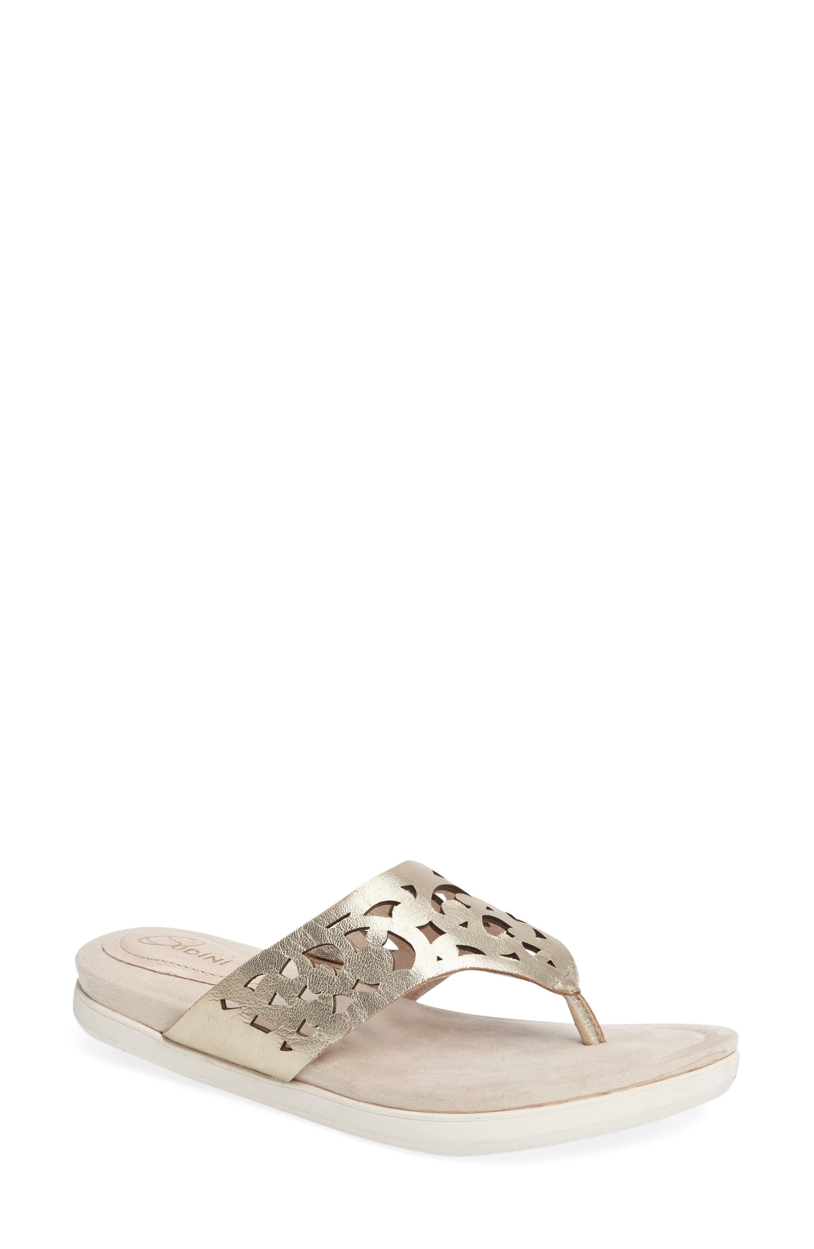 Sudini Sally Perforated Flip Flop (Women)