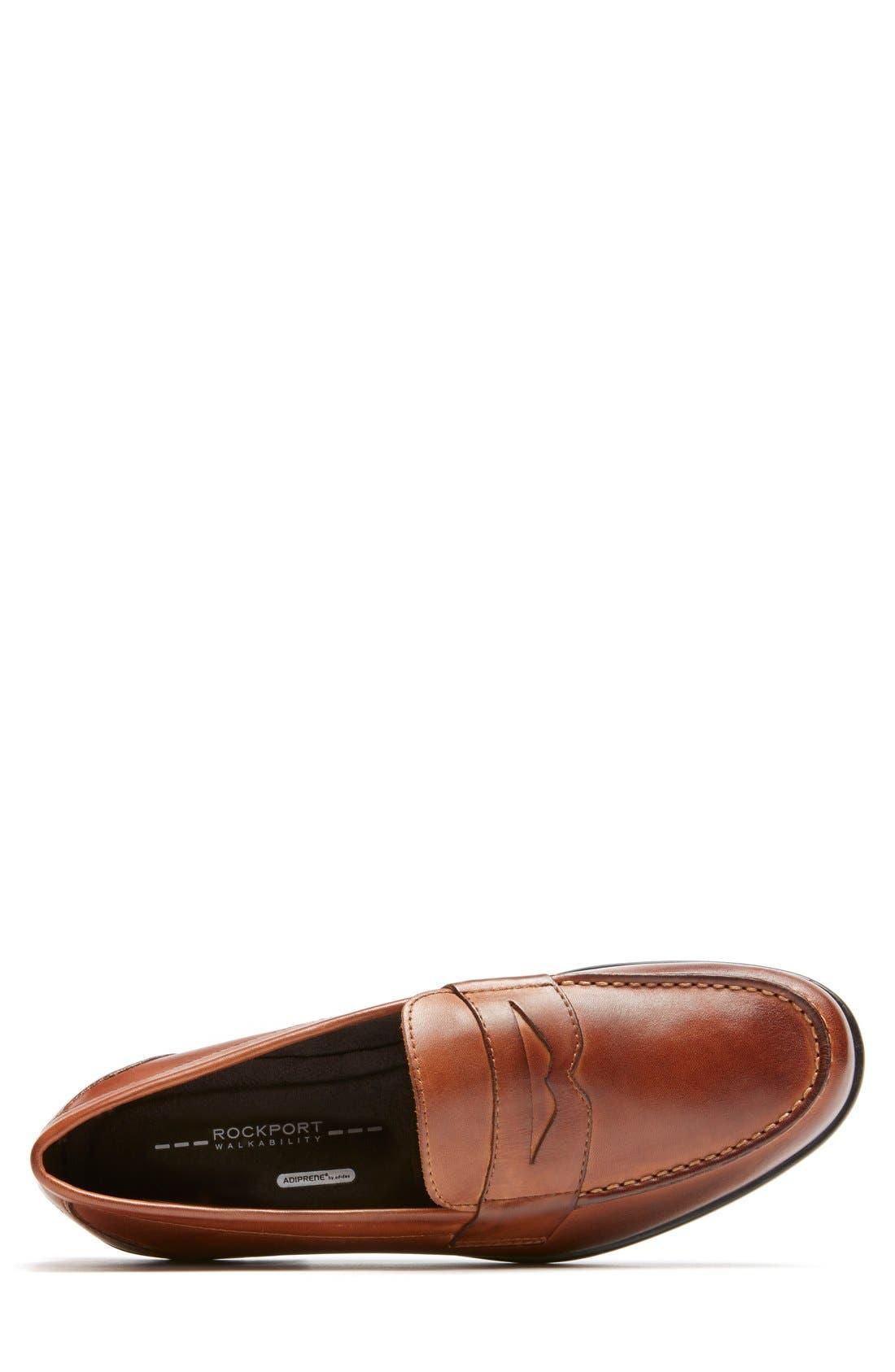 Alternate Image 4  - Rockport Leather Penny Loafer (Men)