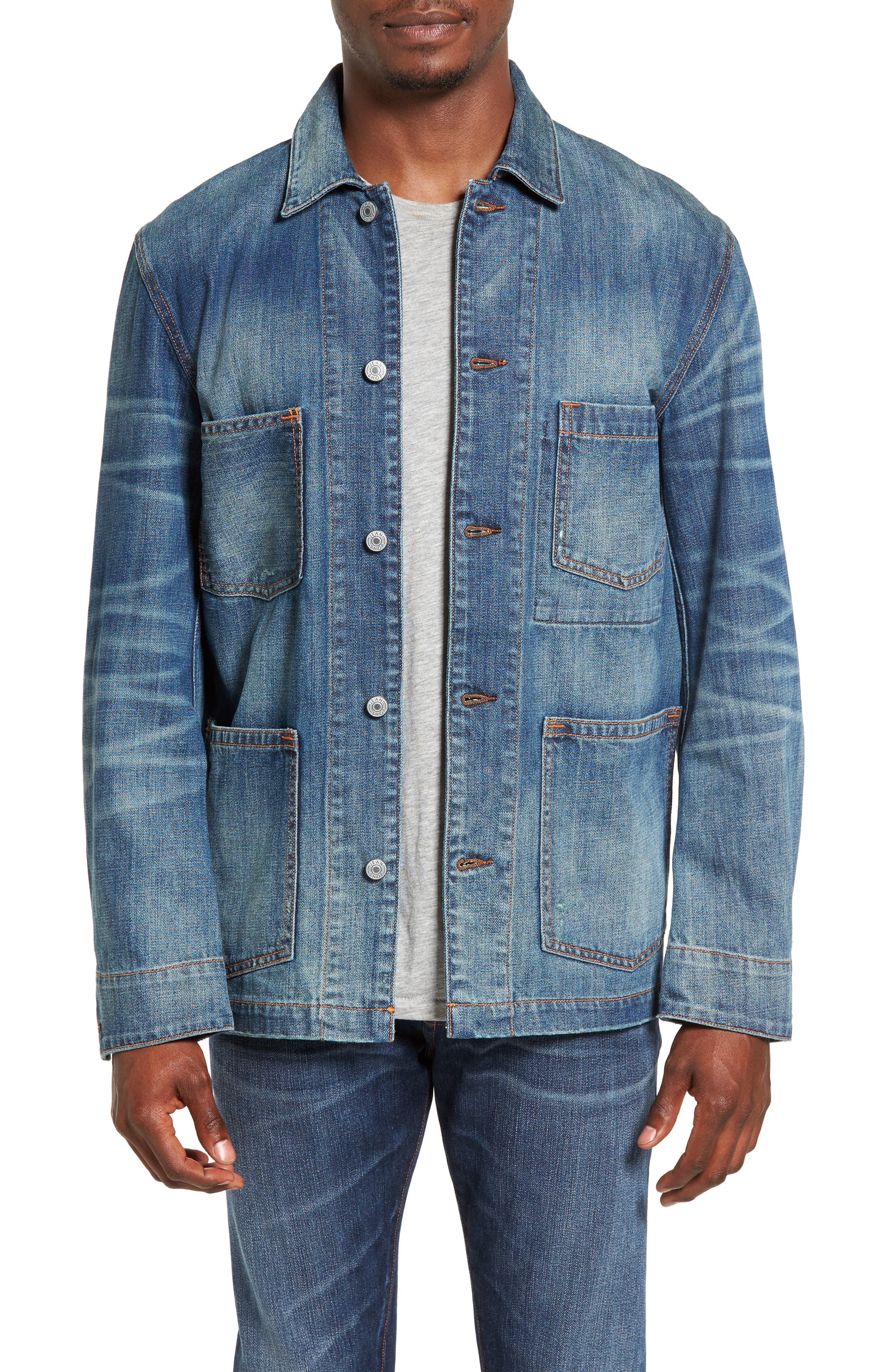 Jean Shop Thurman Denim Shirt Jacket