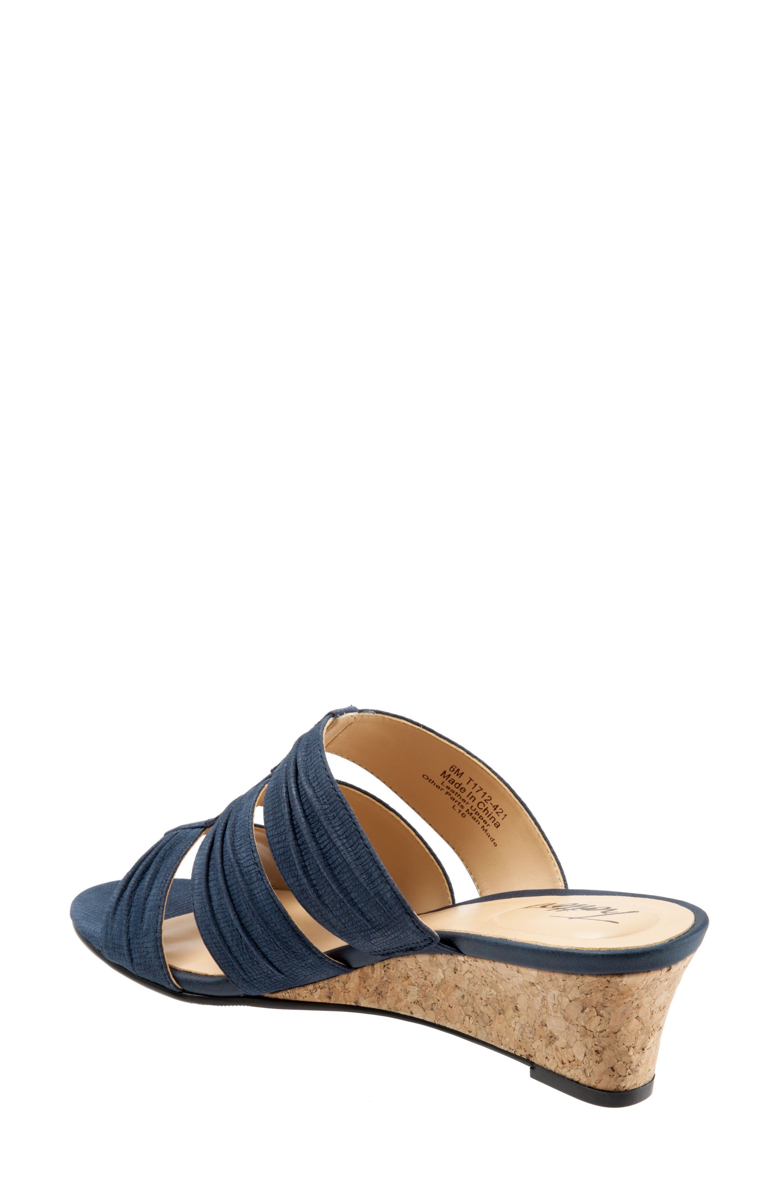 Alternate Image 2  - Trotters Mia Wedge Sandal (Women)