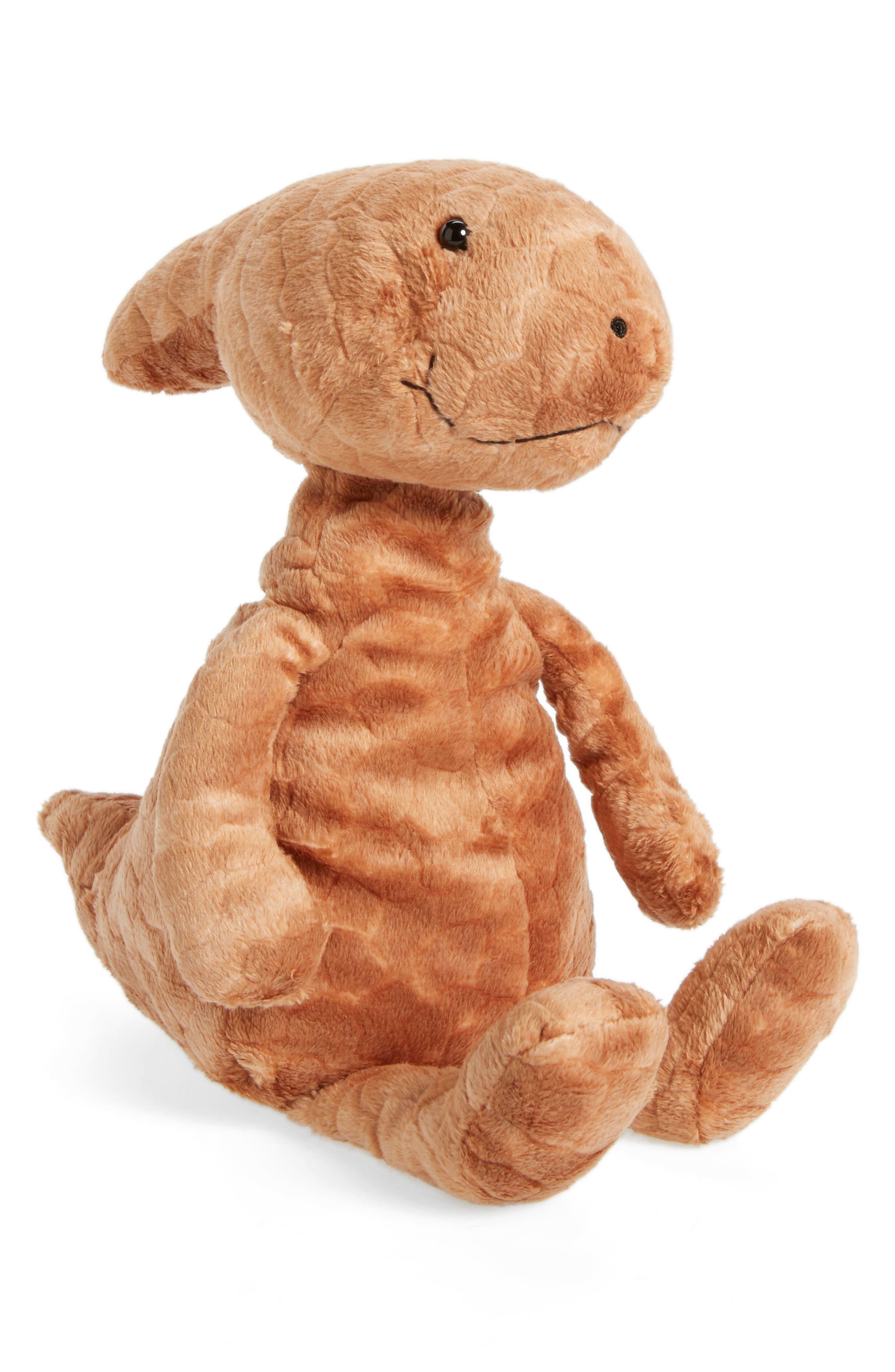 Patrick Parasaurolophus Stuffed Animal,                         Main,                         color, Rust