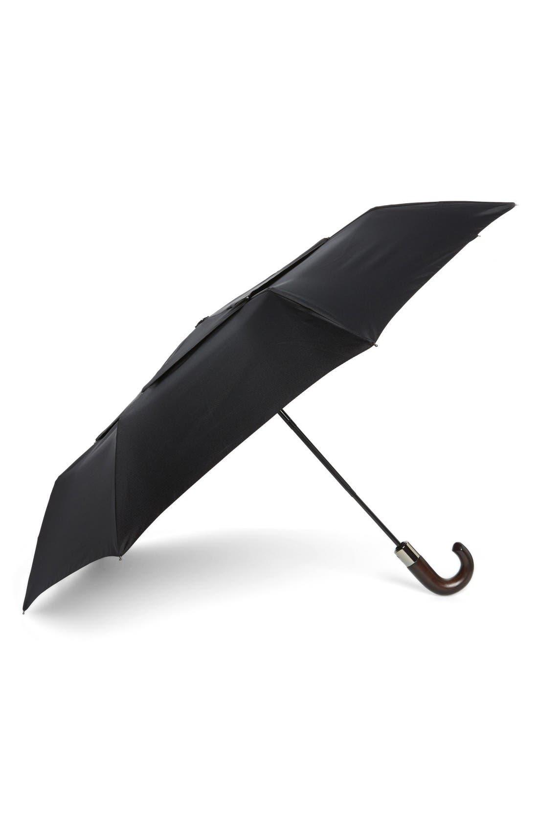 WindPro<sup>®</sup> Auto Open & Close Umbrella,                         Main,                         color, Black