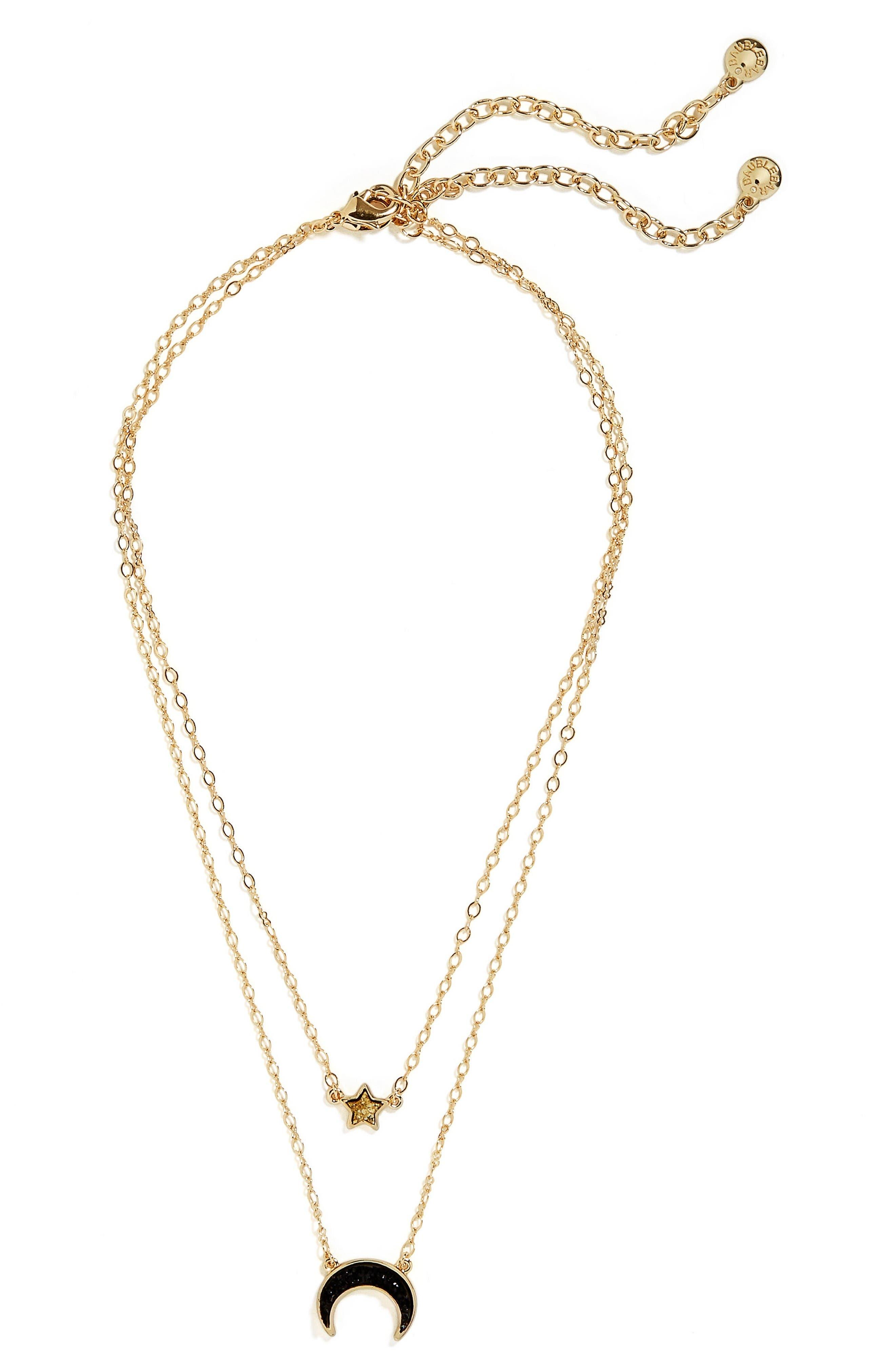 Alternate Image 1 Selected - BaubleBar Skye Layered Necklace
