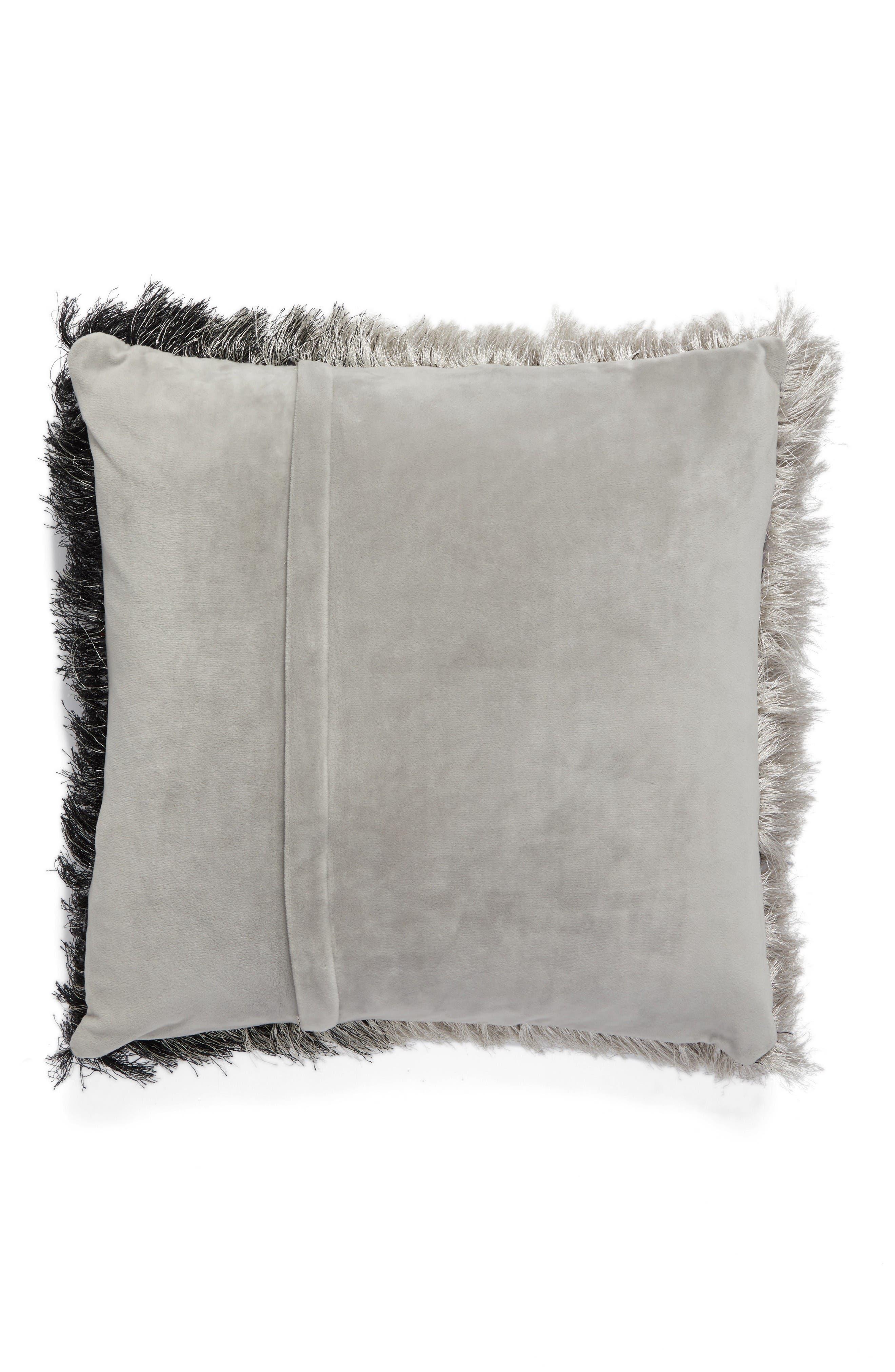 Alternate Image 2  - Mina Victory Shag Ombré Pillow