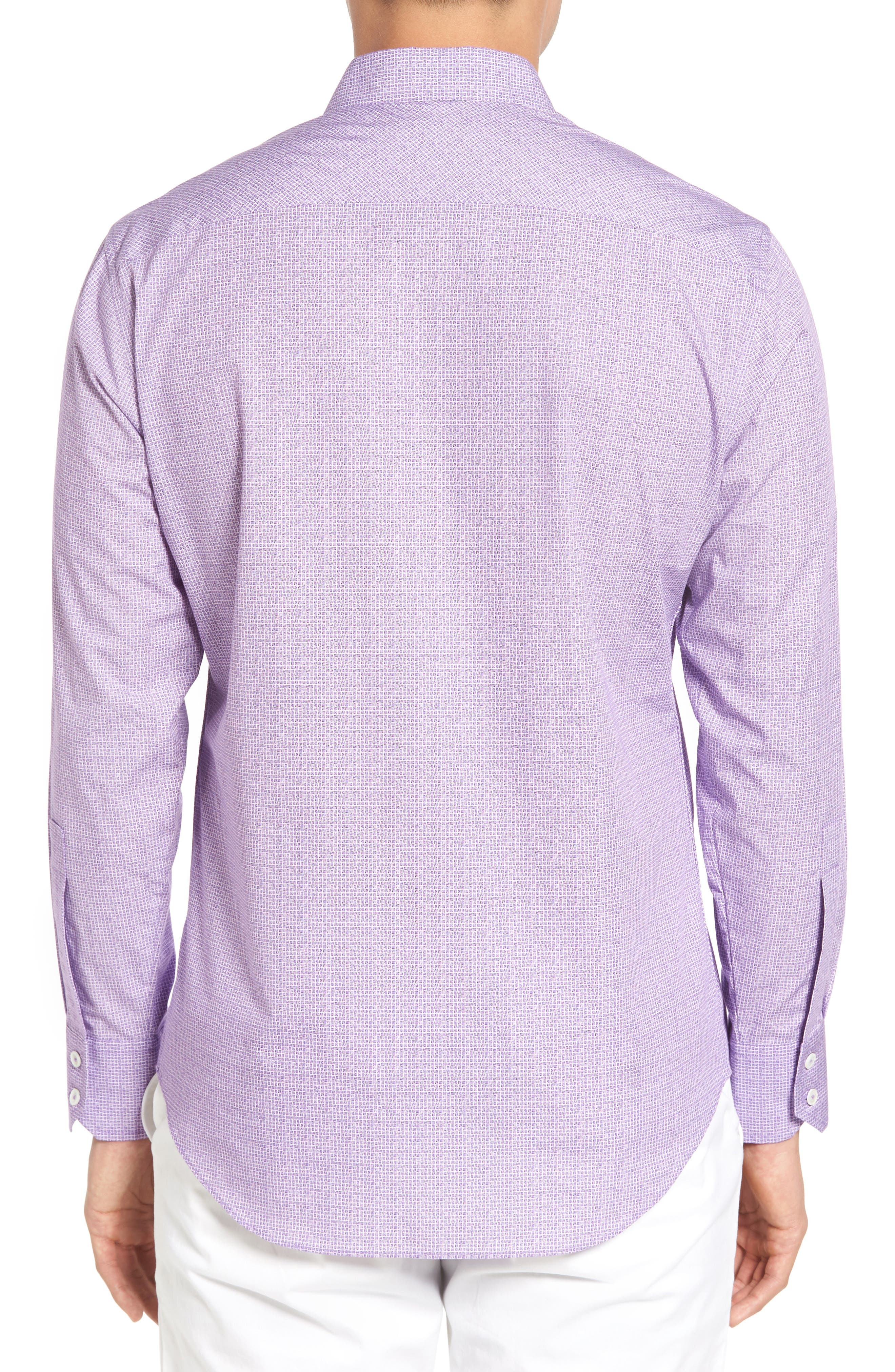 Alternate Image 2  - Zachary Prell McDesmond Trim Fit Print Sport Shirt