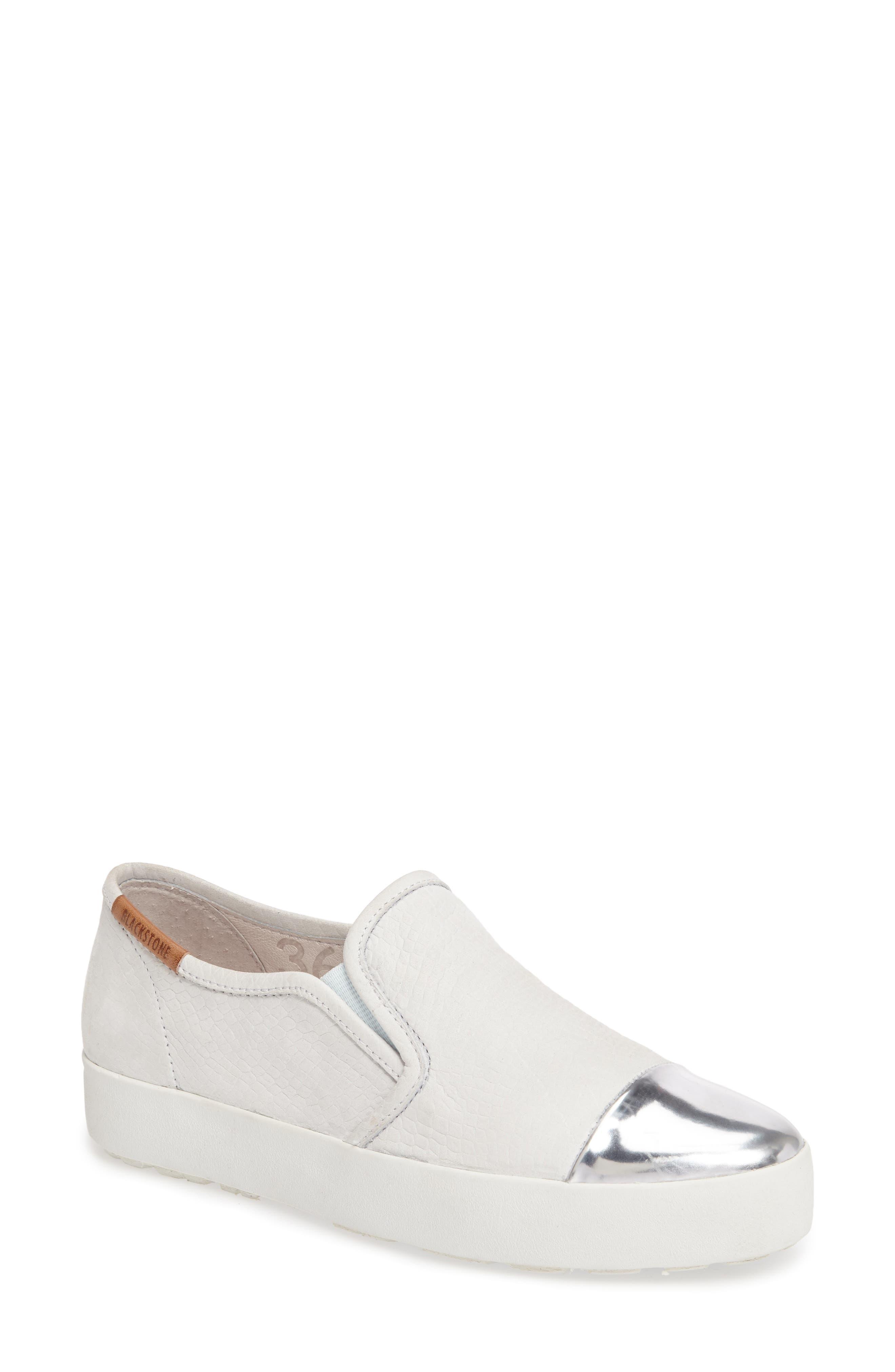 NL47 Slip-On Sneaker,                         Main,                         color, White Nubuck