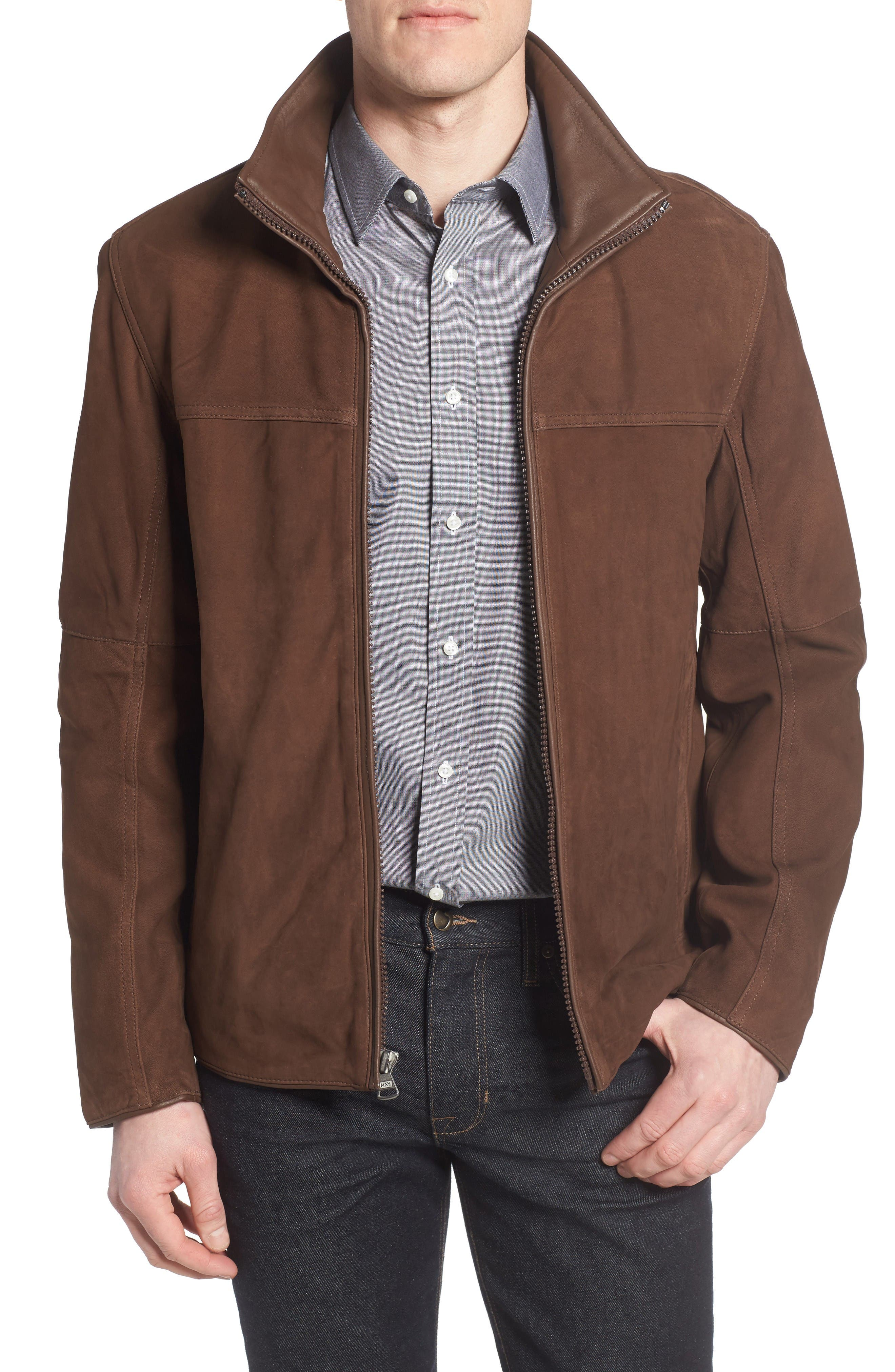 Marc New York by Andrew Marc Calyer Leather Jacket