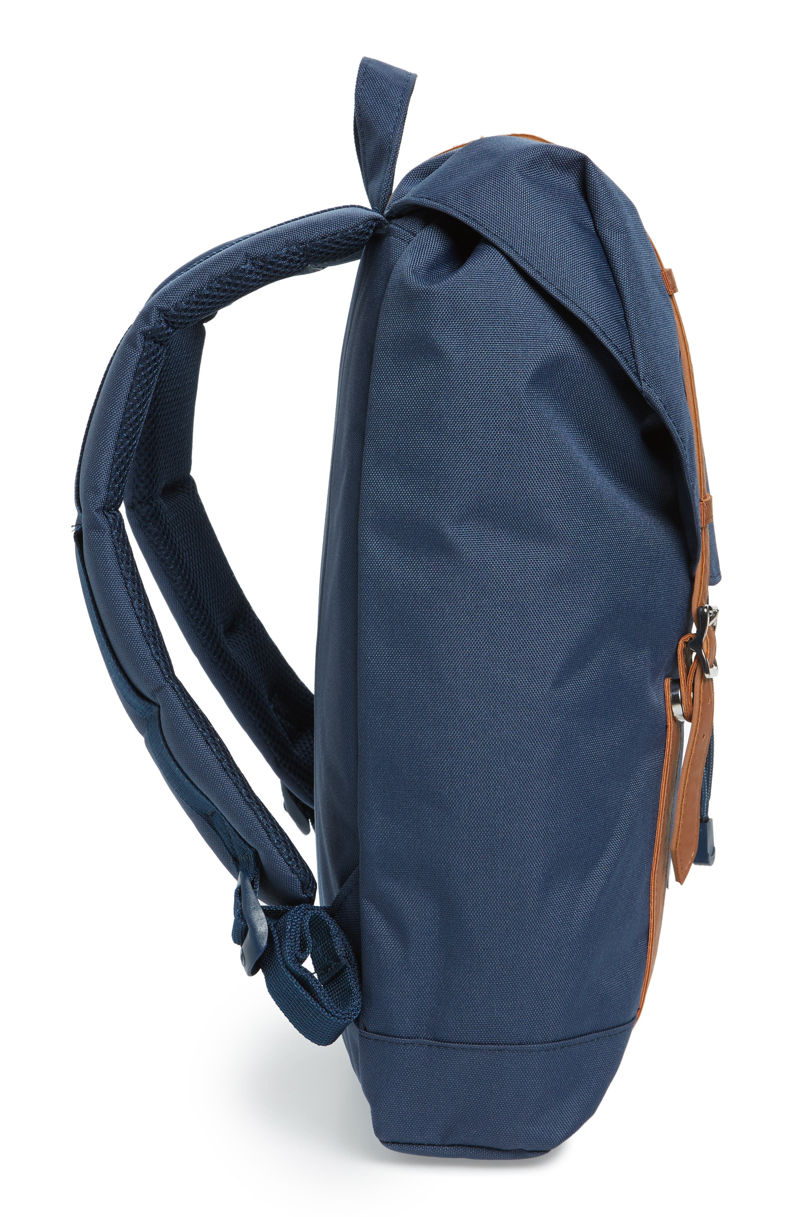 Retreat Mid Volume Backpack,                             Alternate thumbnail 5, color,                             Navy