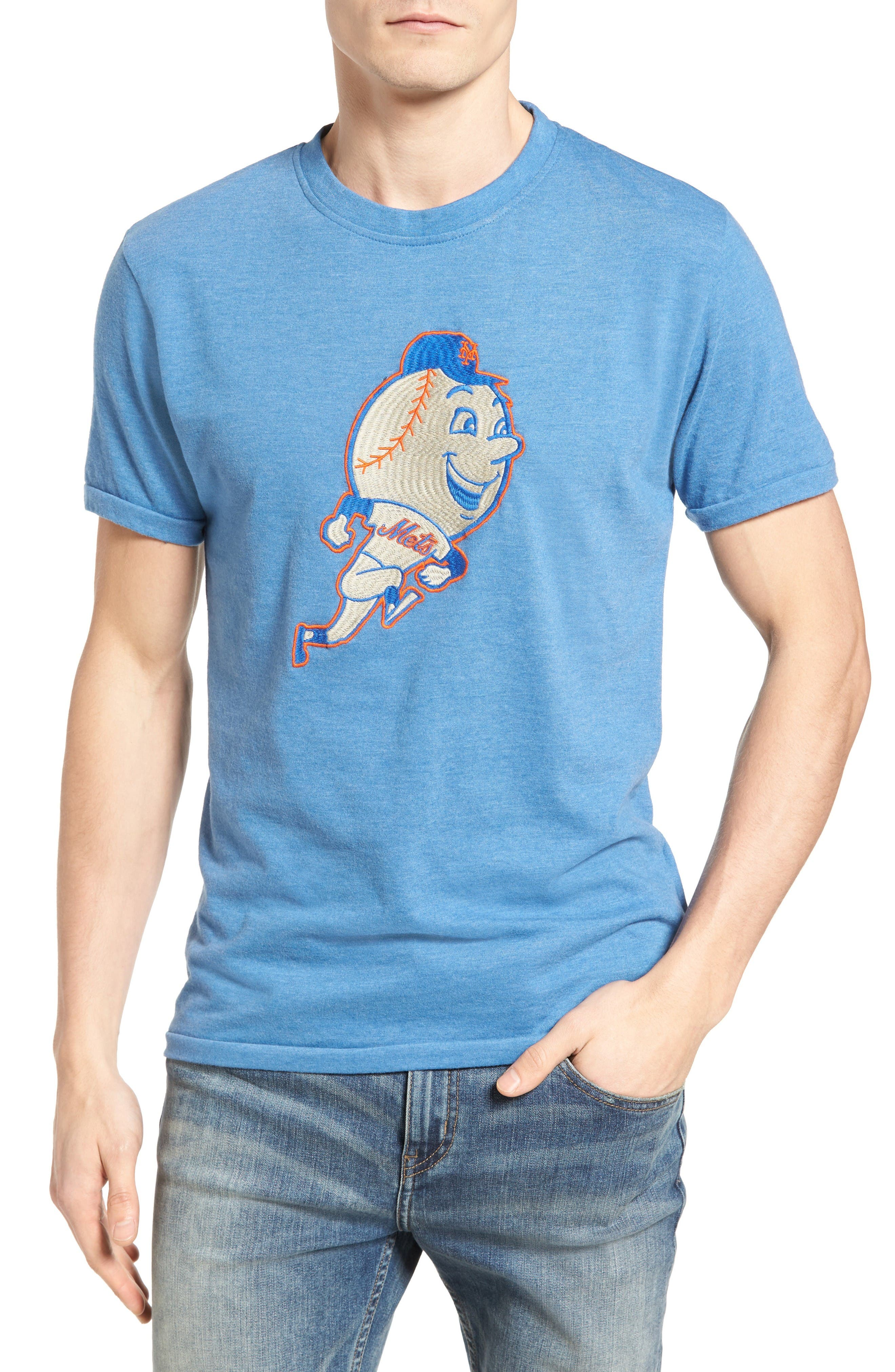 AMERICAN NEEDLE Hillwood New York Mets T-Shirt