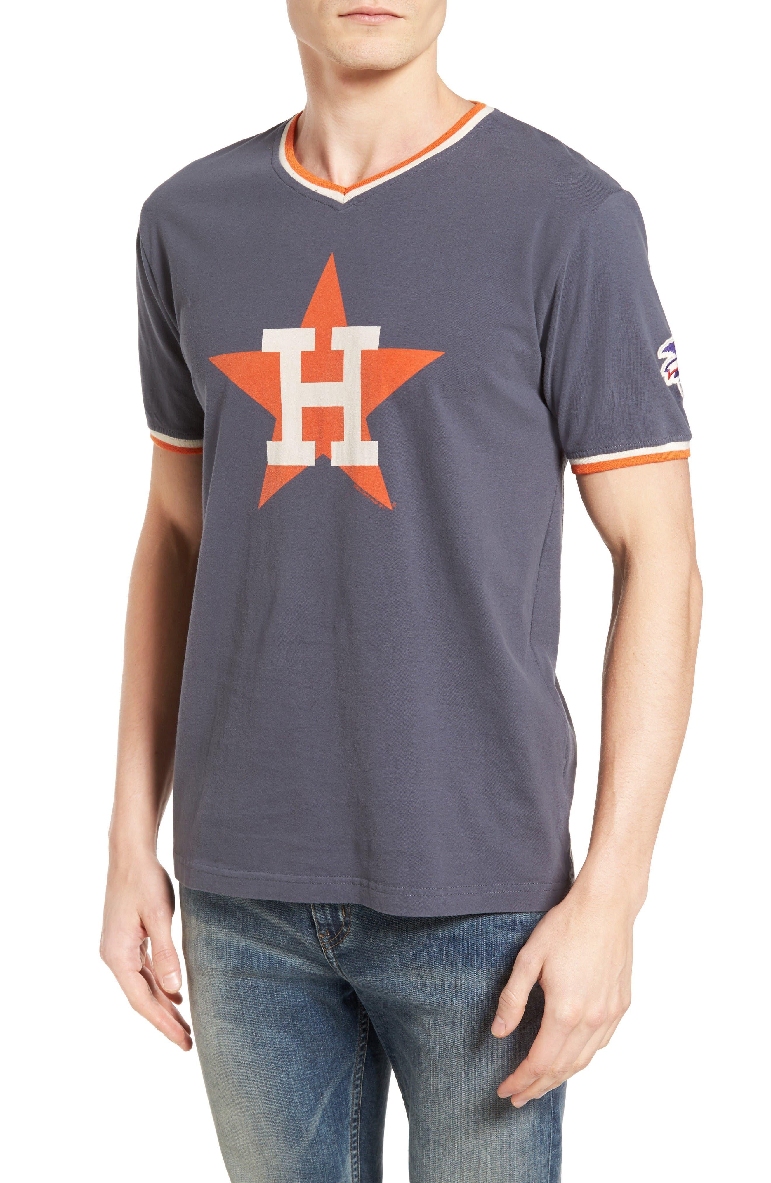 AMERICAN NEEDLE Eastwood Houston Astros T-Shirt