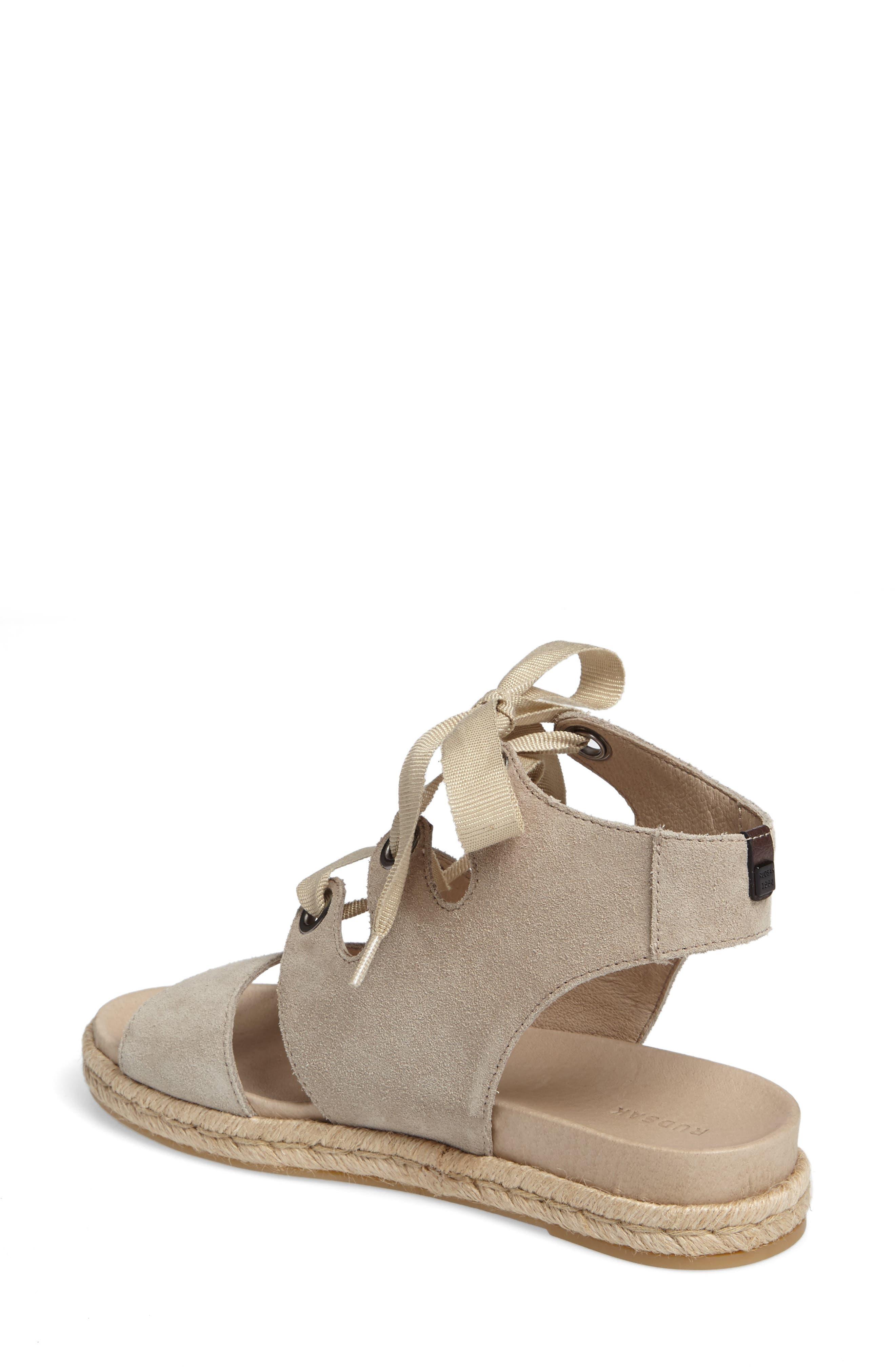 Alternate Image 2  - Rudsak Baptista Lace-Up Sandal (Women)