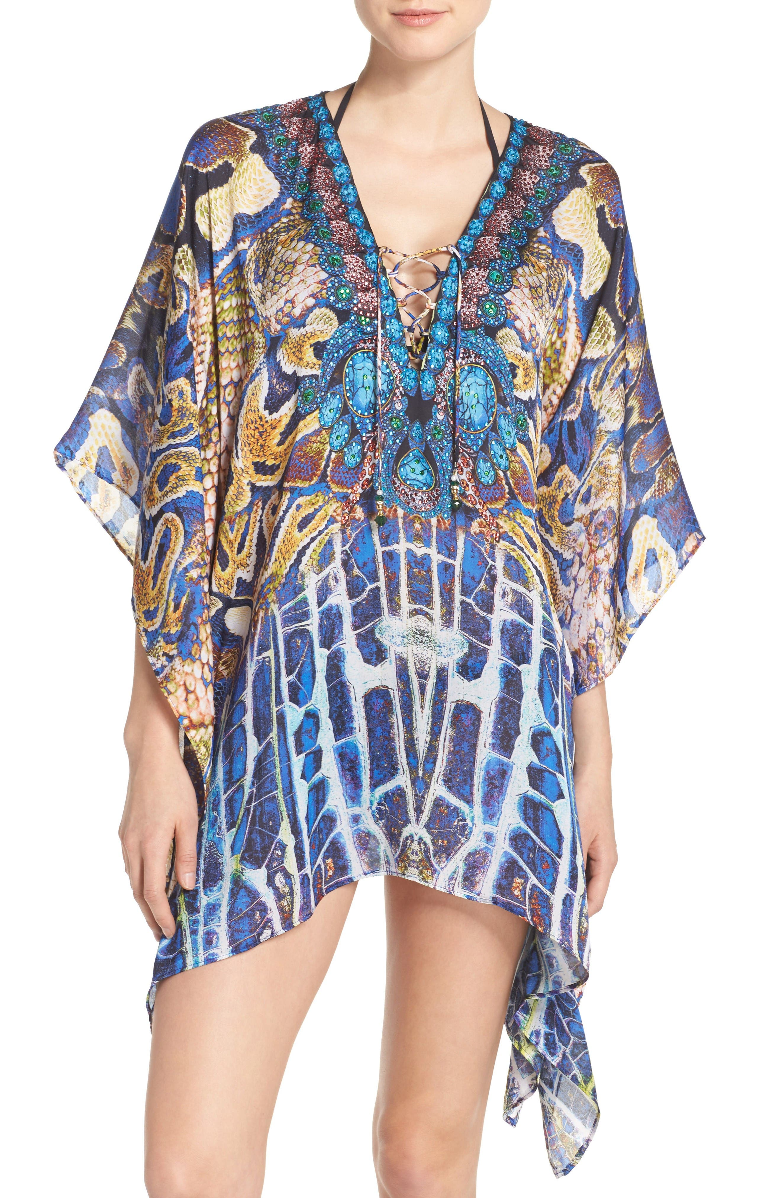 Alternate Image 1 Selected - Asa Kaftans Paris Short Kaftan