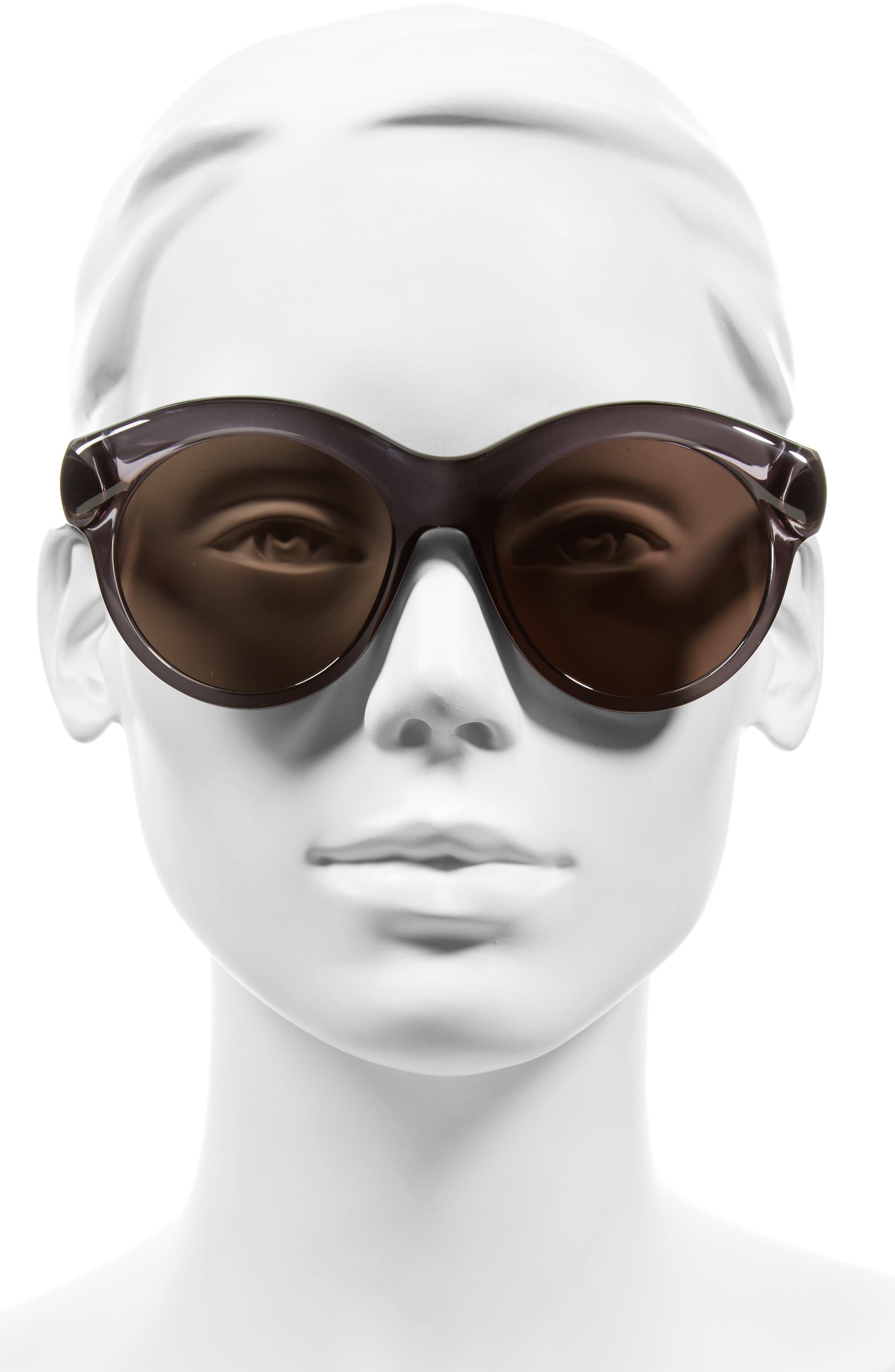 54mm Sunglasses,                             Alternate thumbnail 2, color,                             Grey