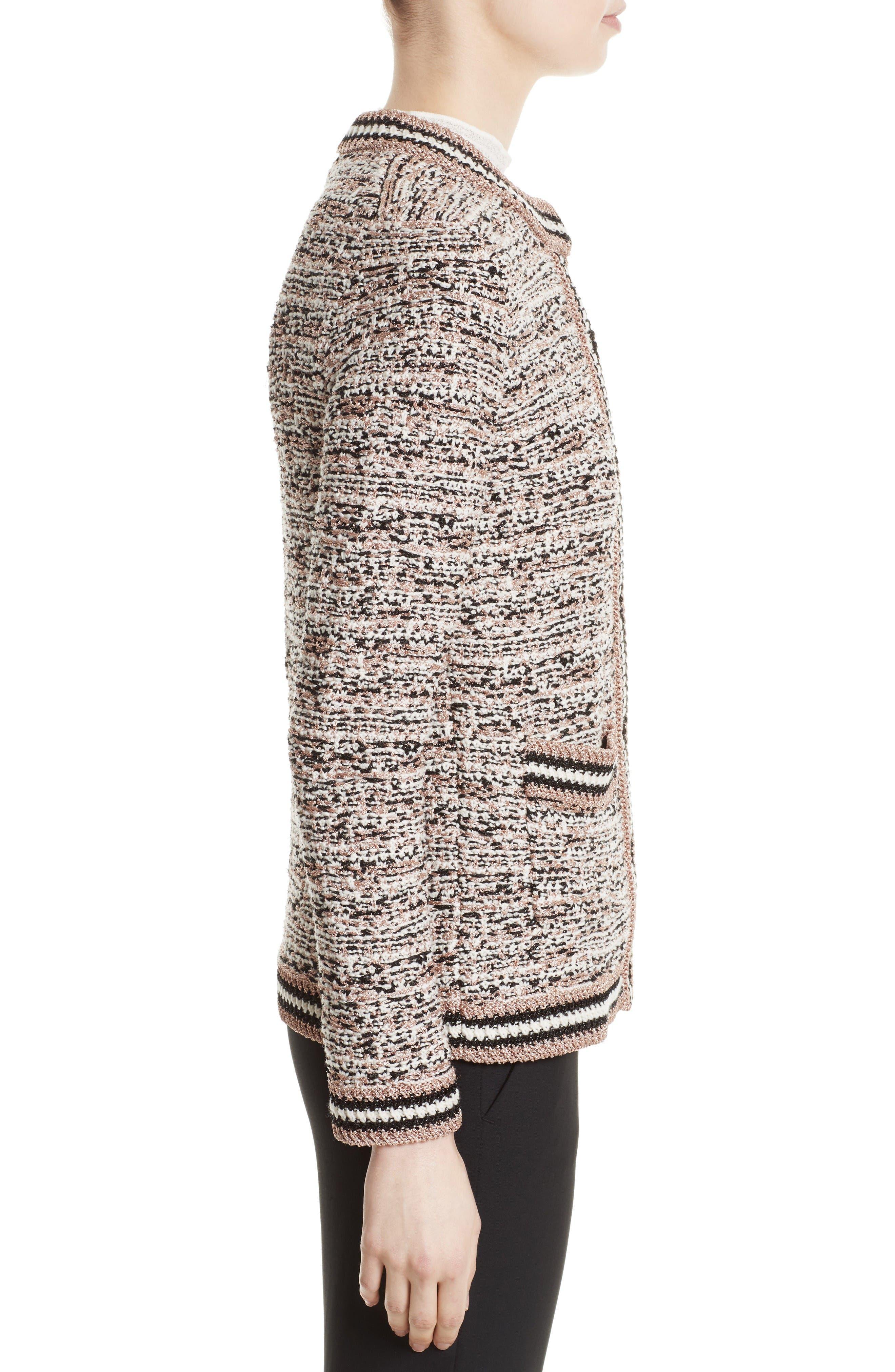 Alternate Image 3  - M Missoni Metallic Tweed Jacket