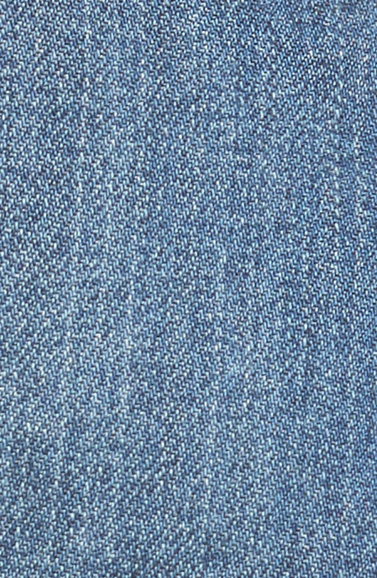 Alternate Image 6  - PAIGE Jimmy Jimmy Denim Shorts (Alta Destructed)