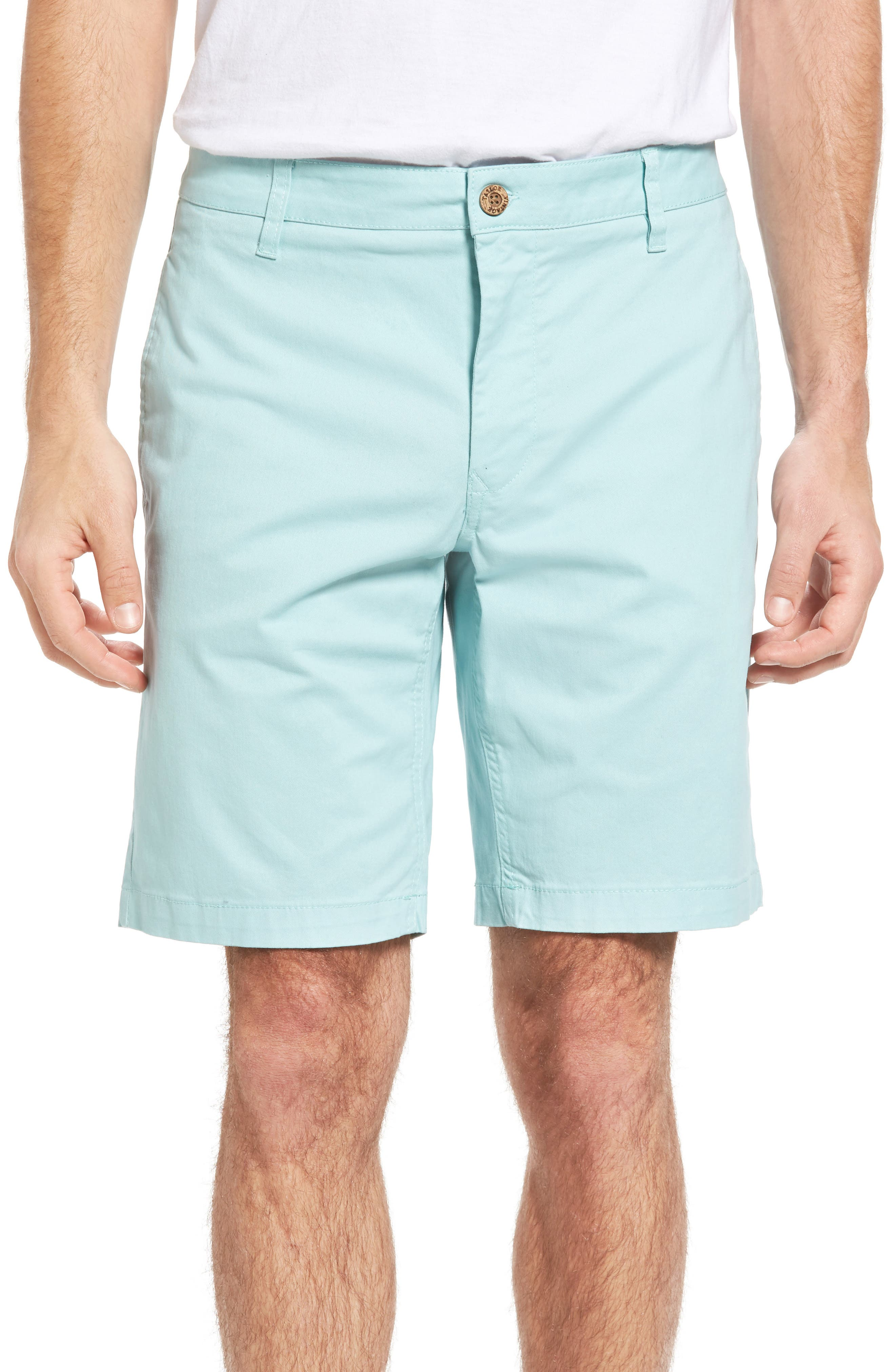 Stretch Twill Walking Shorts,                         Main,                         color, Canal Blue