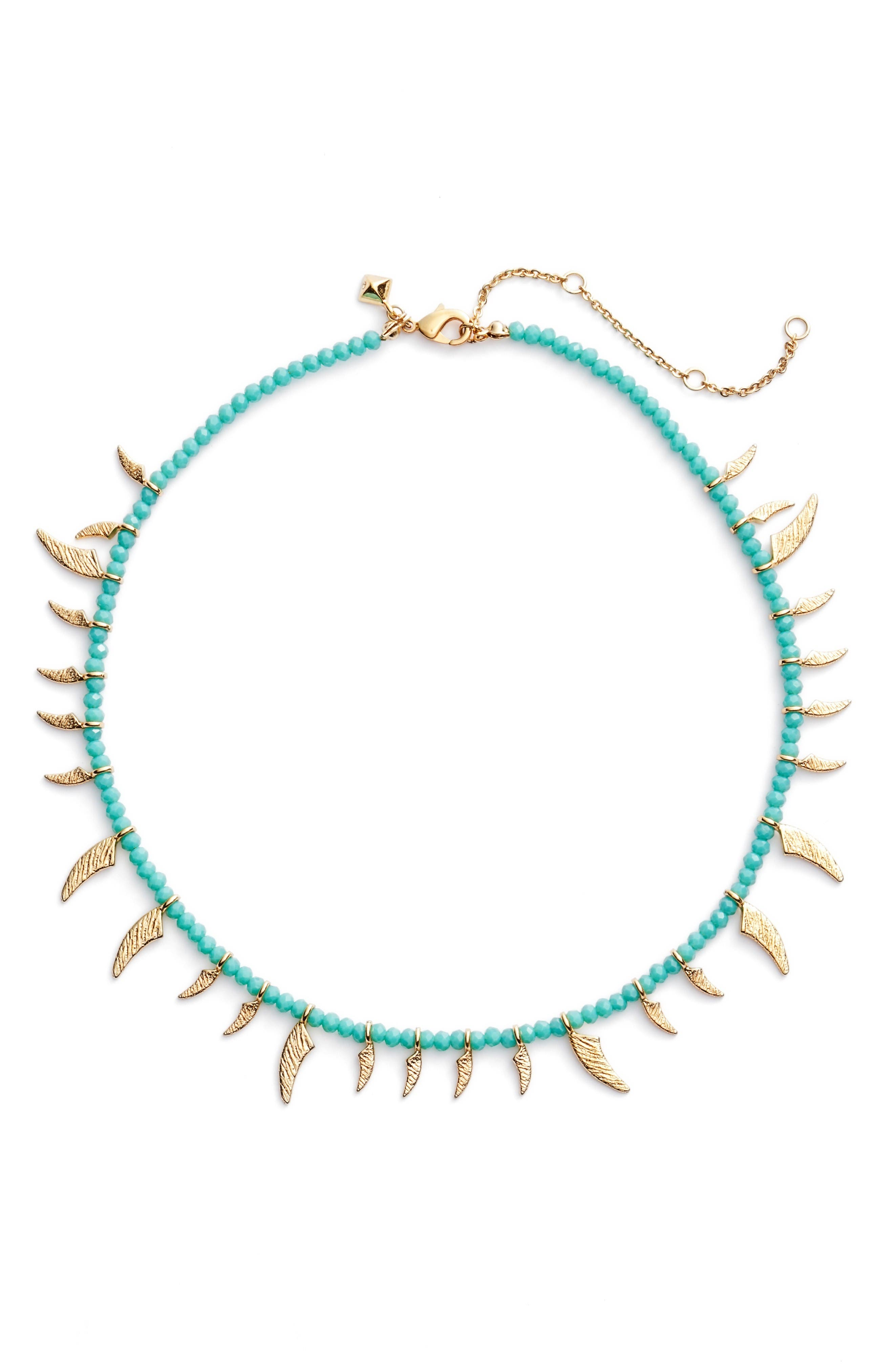 REBECCA MINKOFF Tiki Collar Necklace