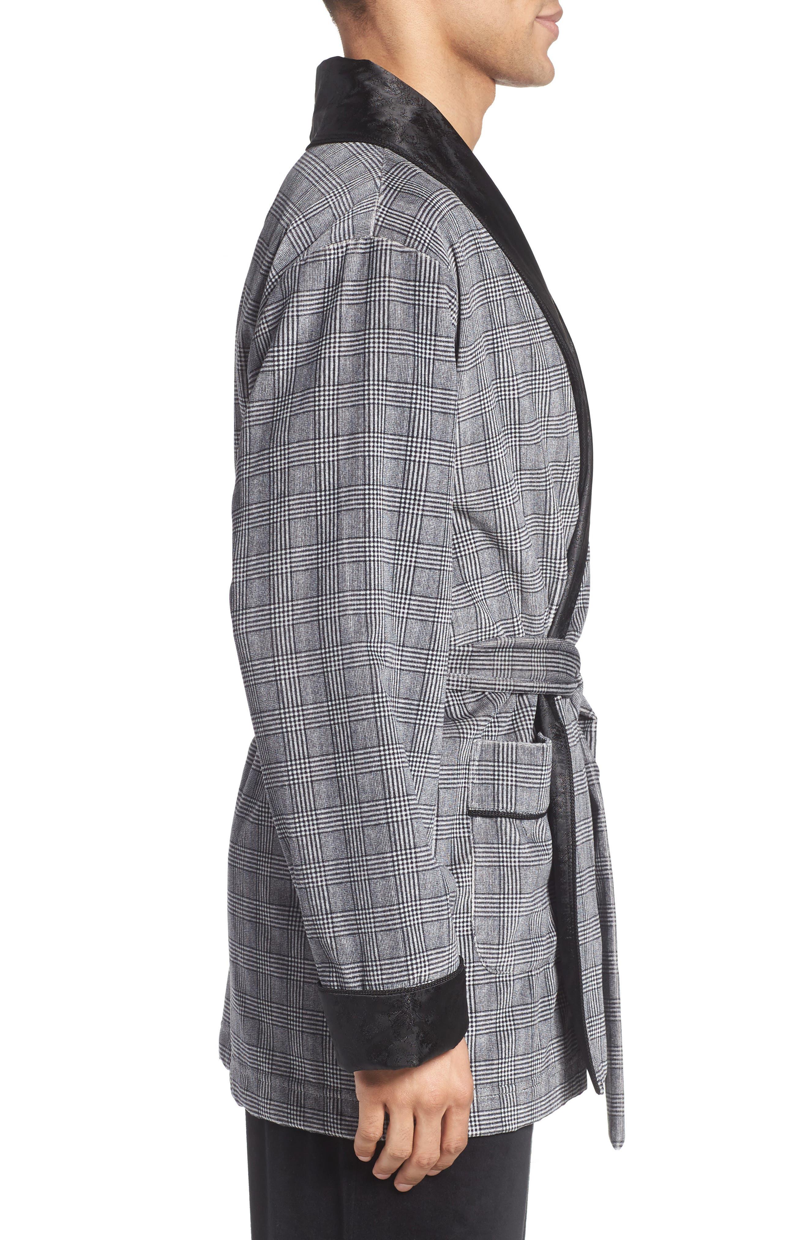 Alternate Image 3  - Majestic International Leading Man Smoking Jacket