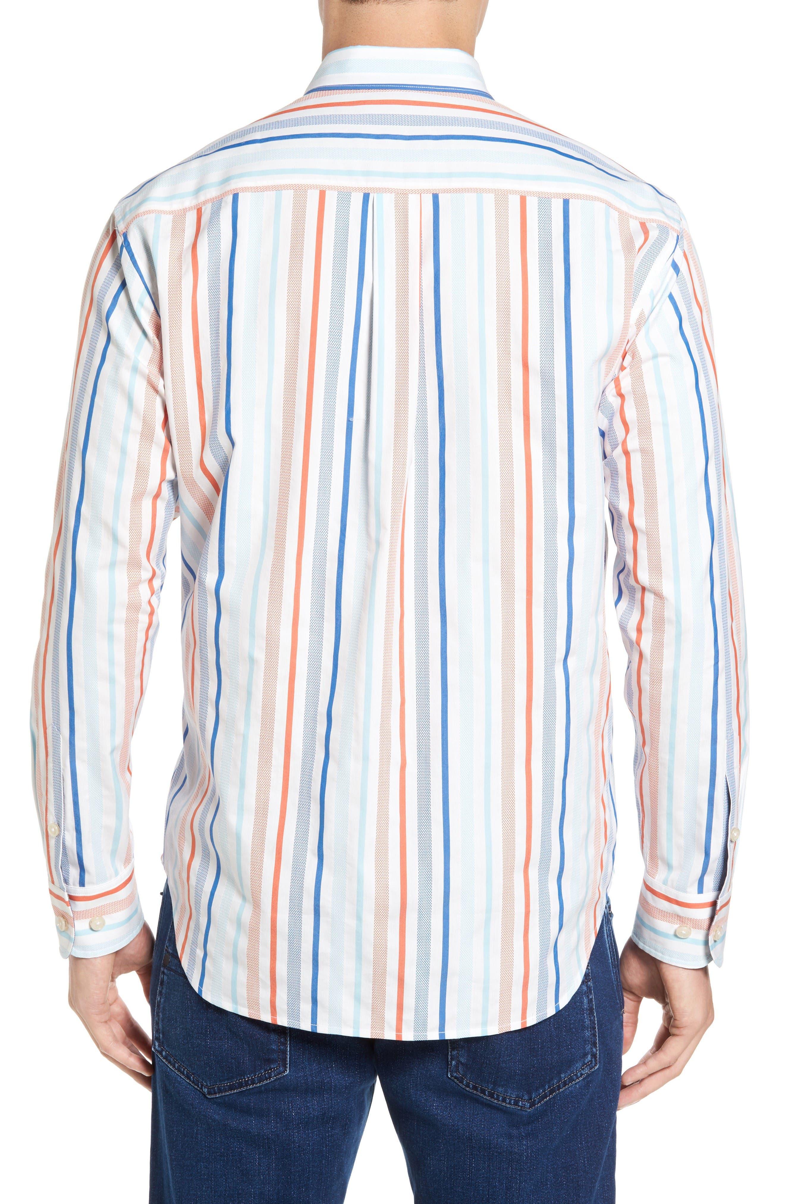 Alternate Image 2  - Tommy Bahama Demeter Stripe Sport Shirt