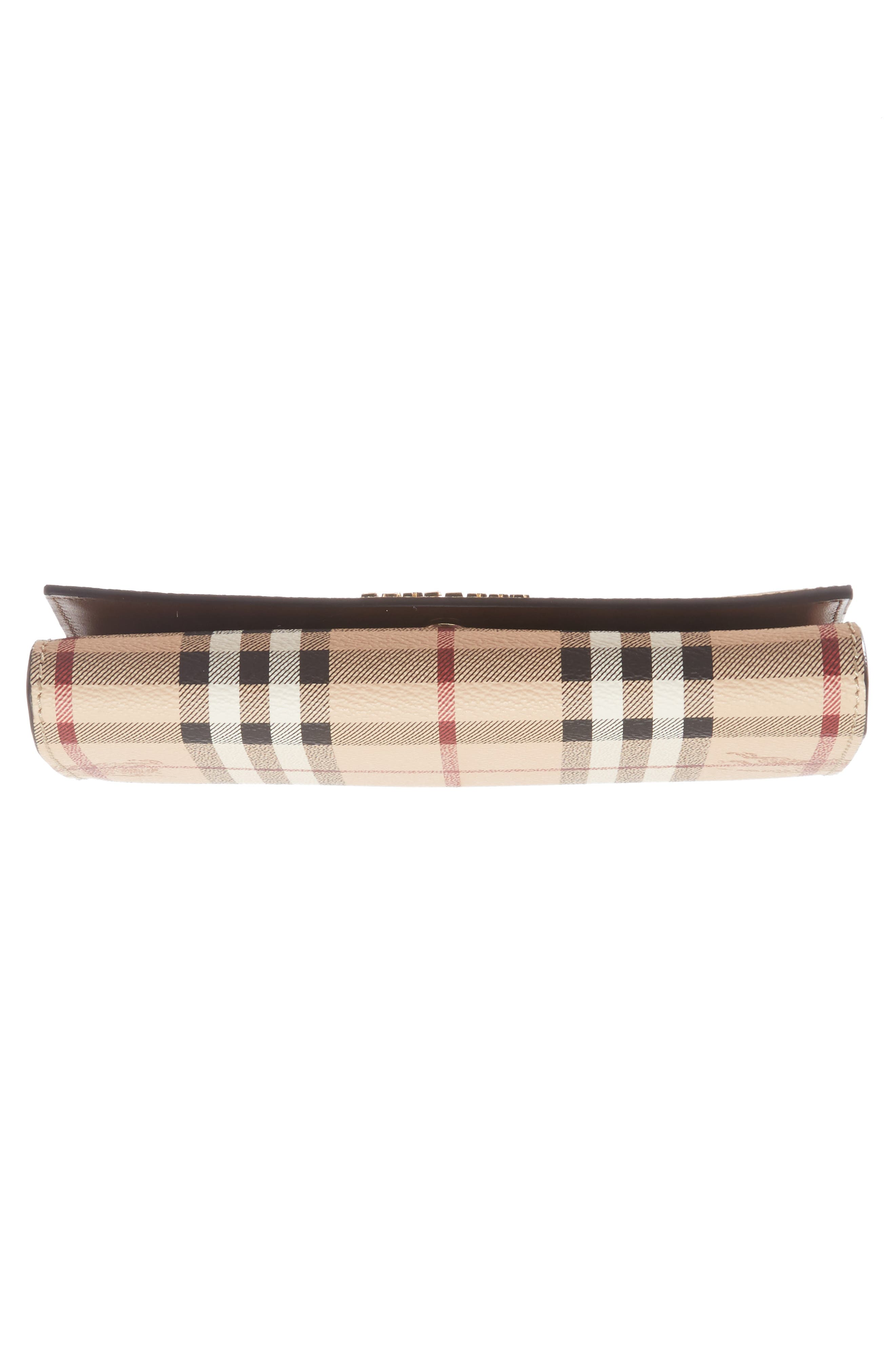 Alternate Image 5  - Burberry Halton Haymarket Check Continental Wallet
