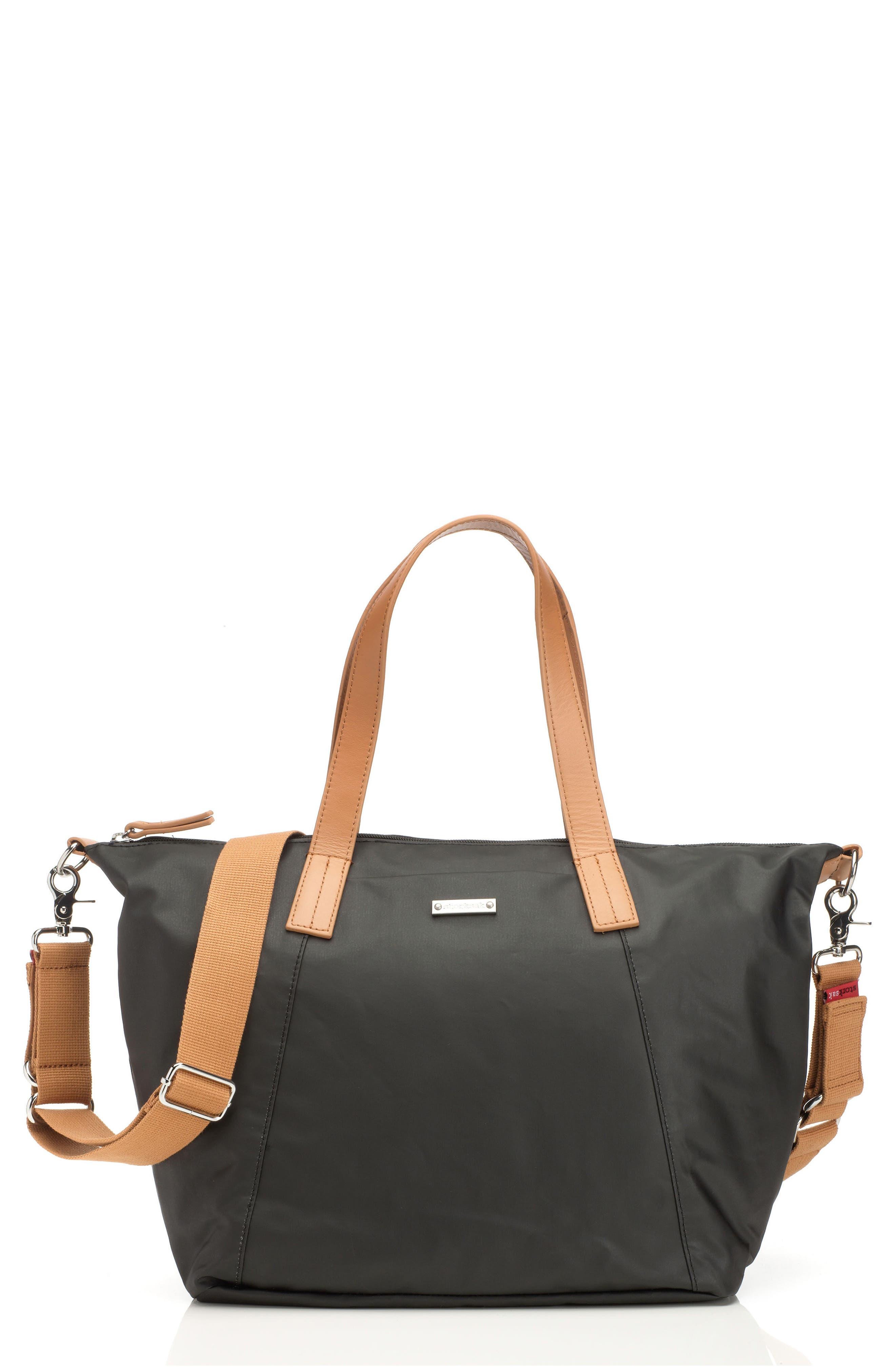 Alternate Image 1 Selected - Storksak Noa Diaper Bag