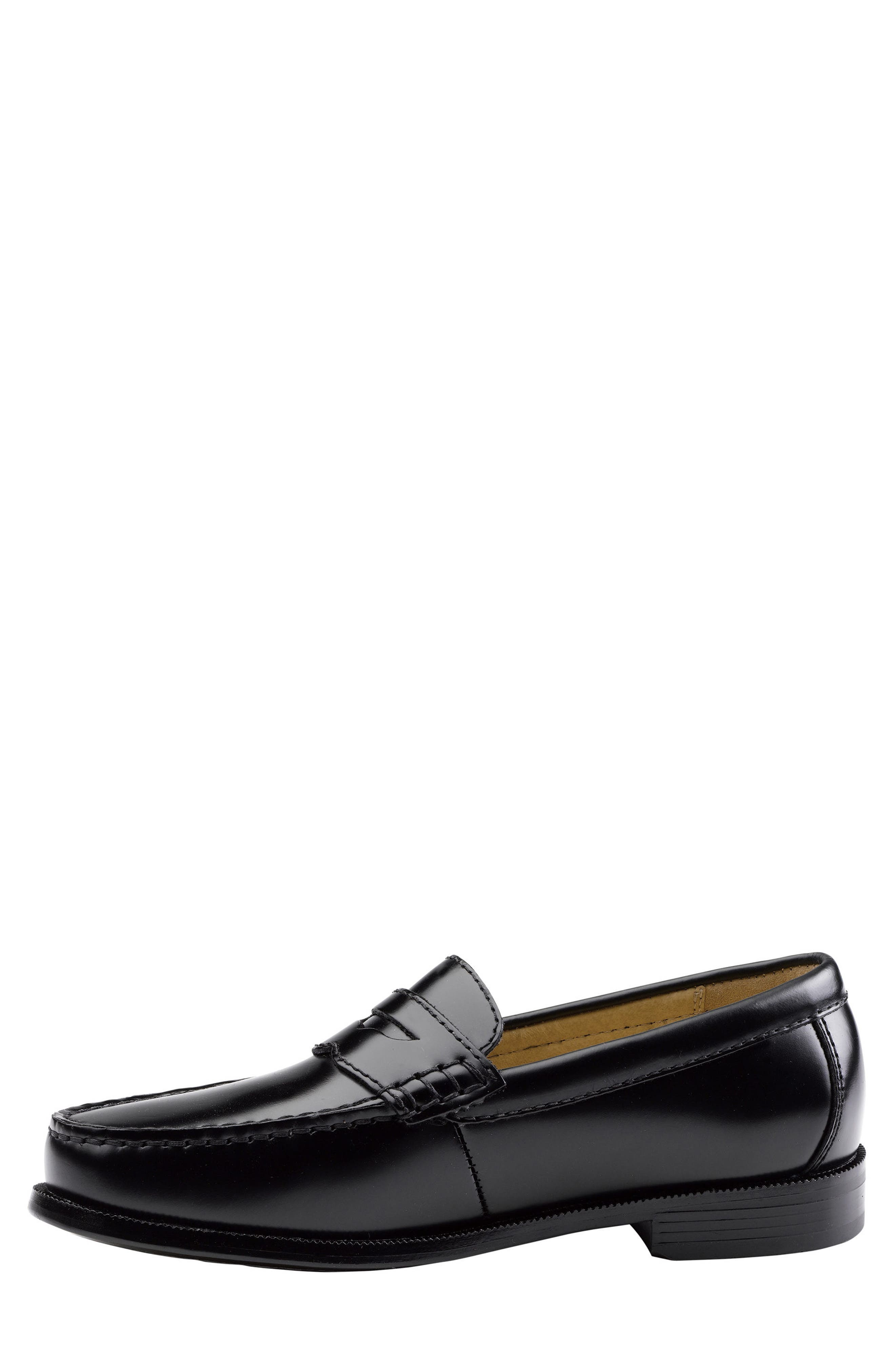 Carmichael Penny Loafer,                             Alternate thumbnail 3, color,                             Black
