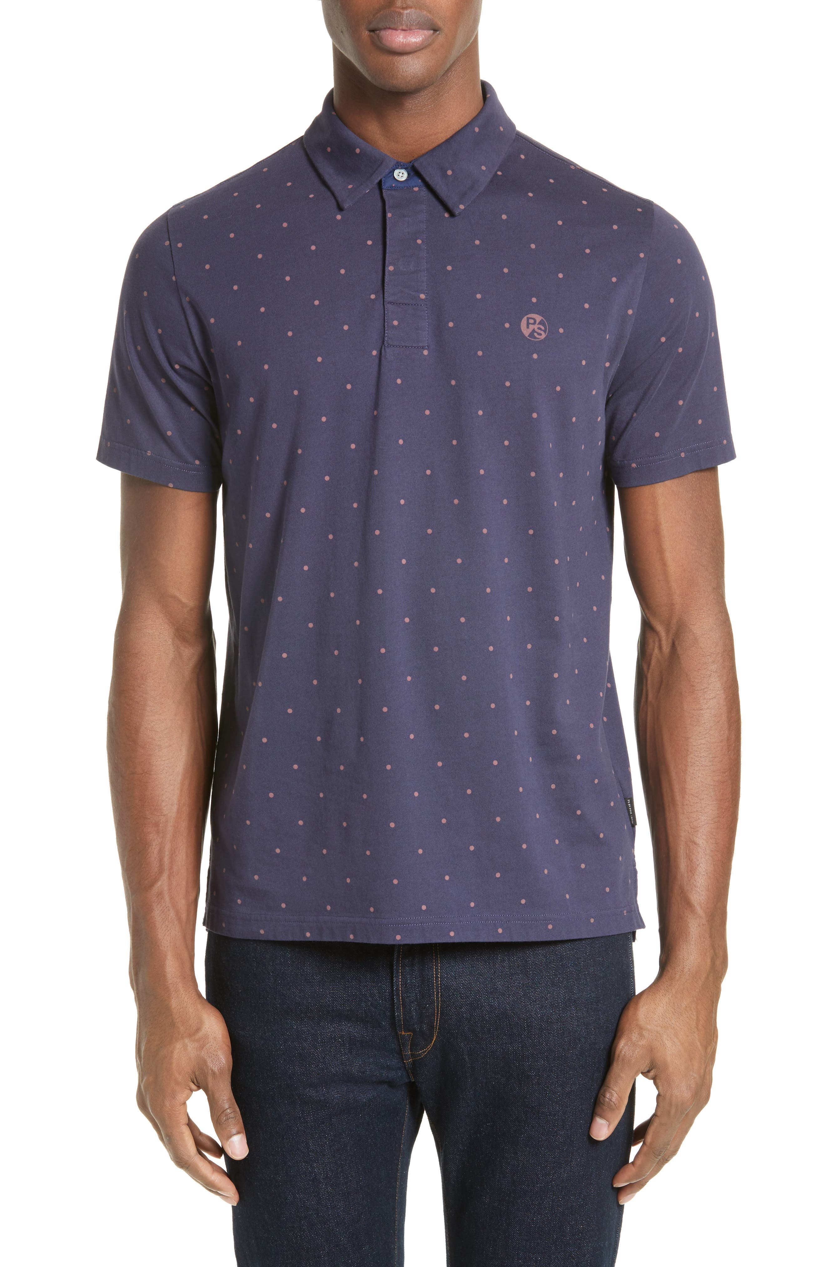PS PAUL SMITH Polka Dot Polo