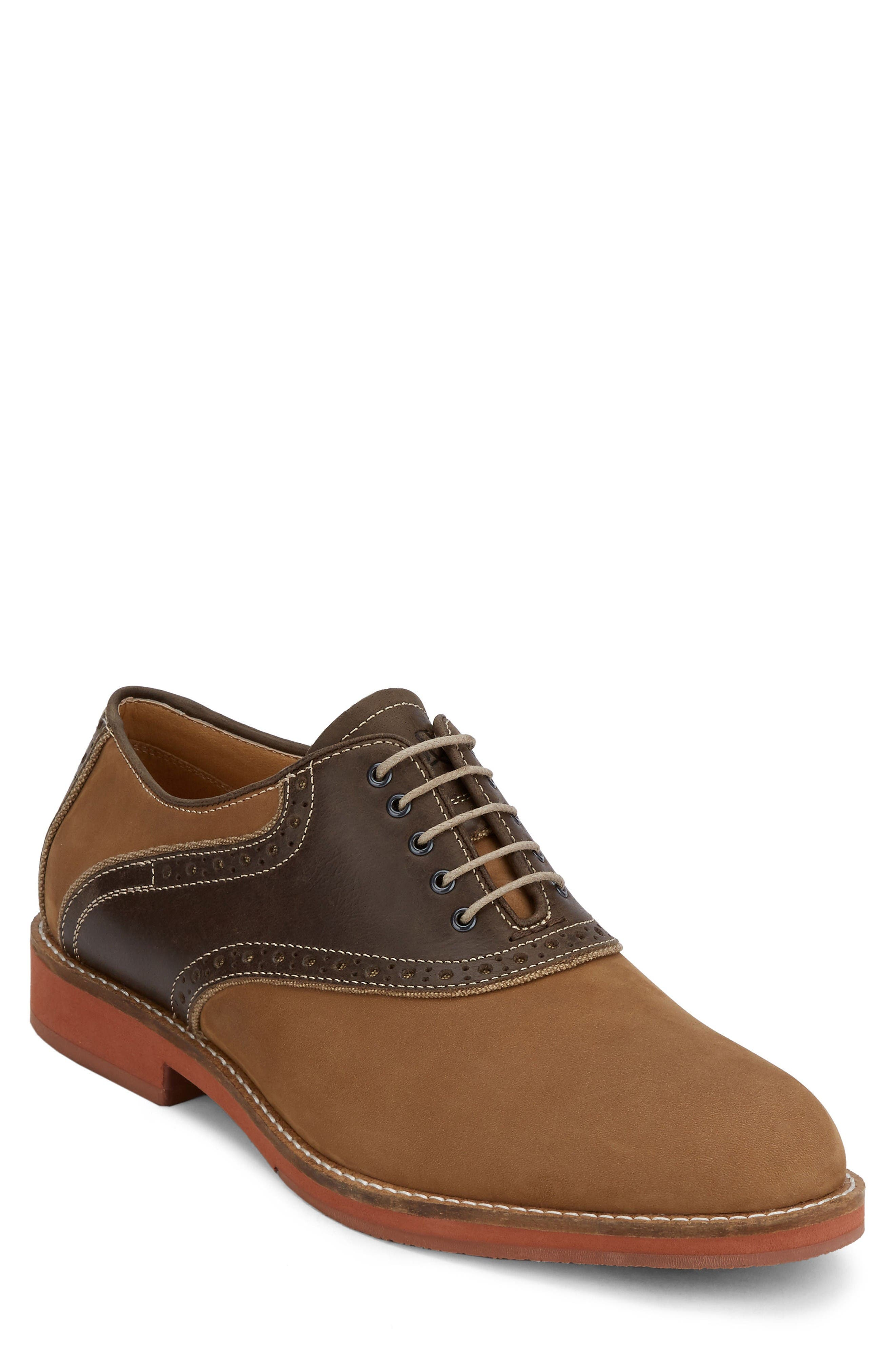 Alternate Image 1 Selected - G.H. Bass & Co. Noah Saddle Shoe (Men)
