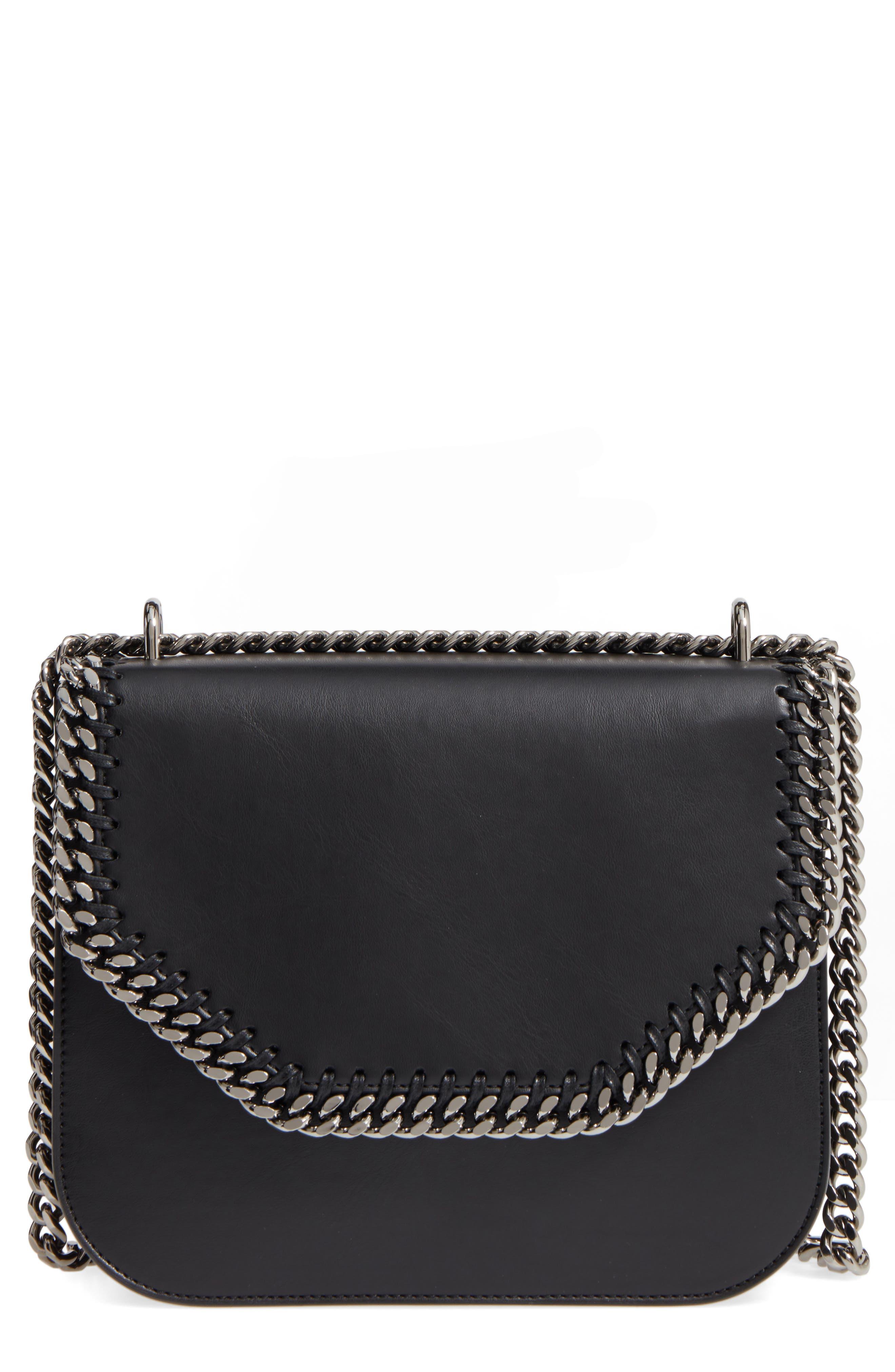 STELLA MCCARTNEY Falabella Box Faux Leather Crossbody Bag