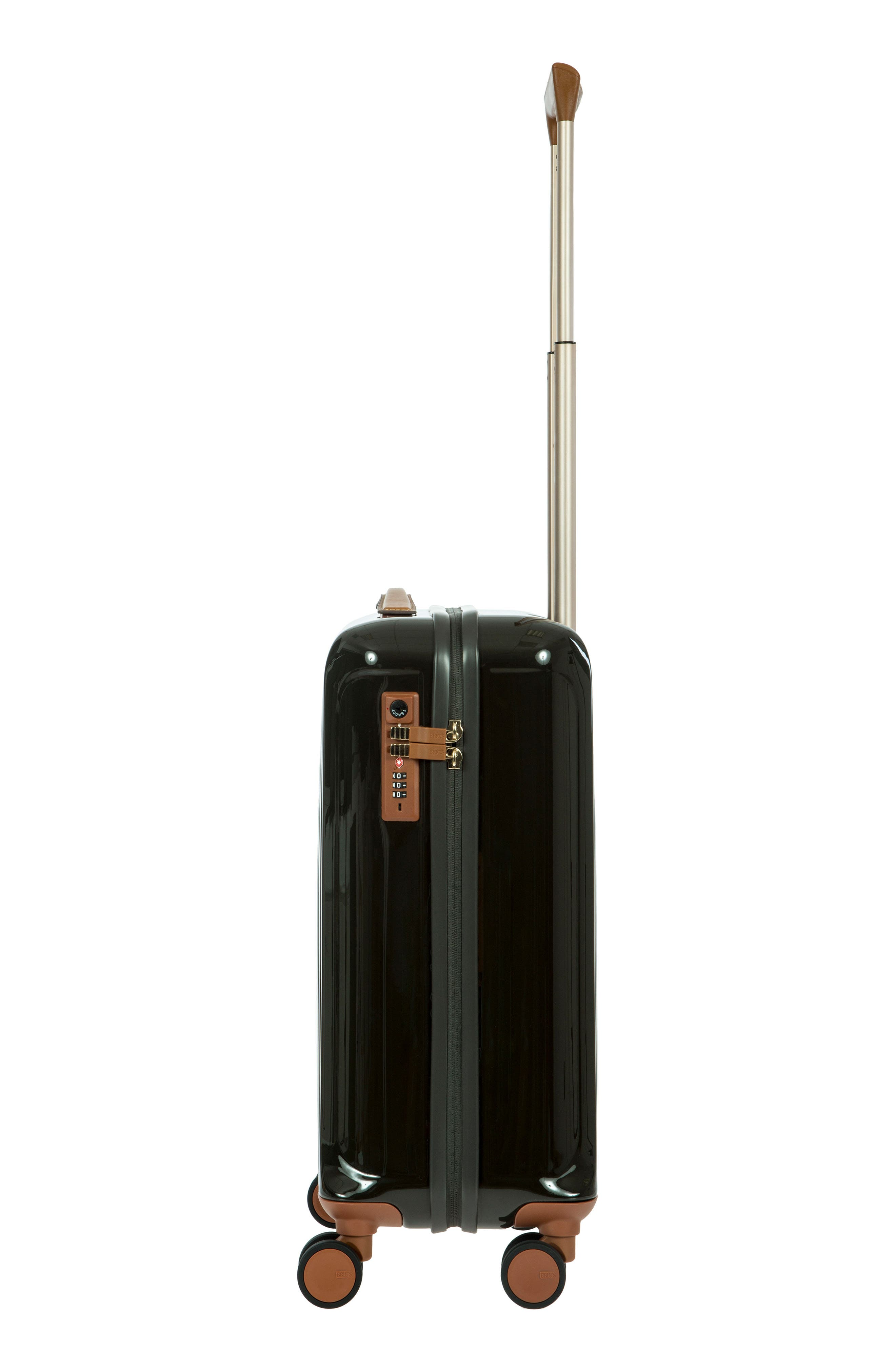 Capri 21-Inch Rolling Carry-On,                             Alternate thumbnail 4, color,                             Olive