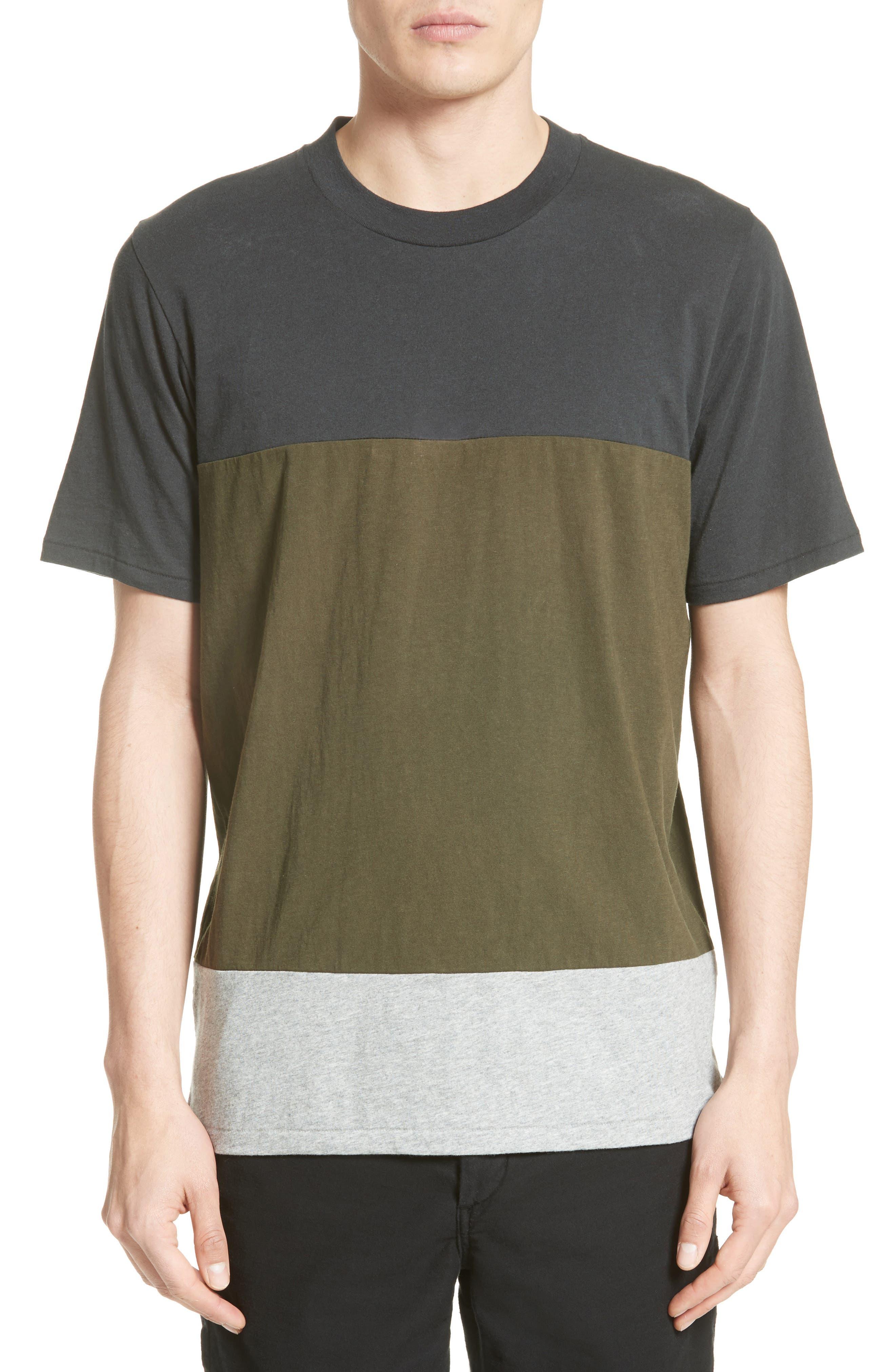 RAG & BONE Colorblock T-Shirt