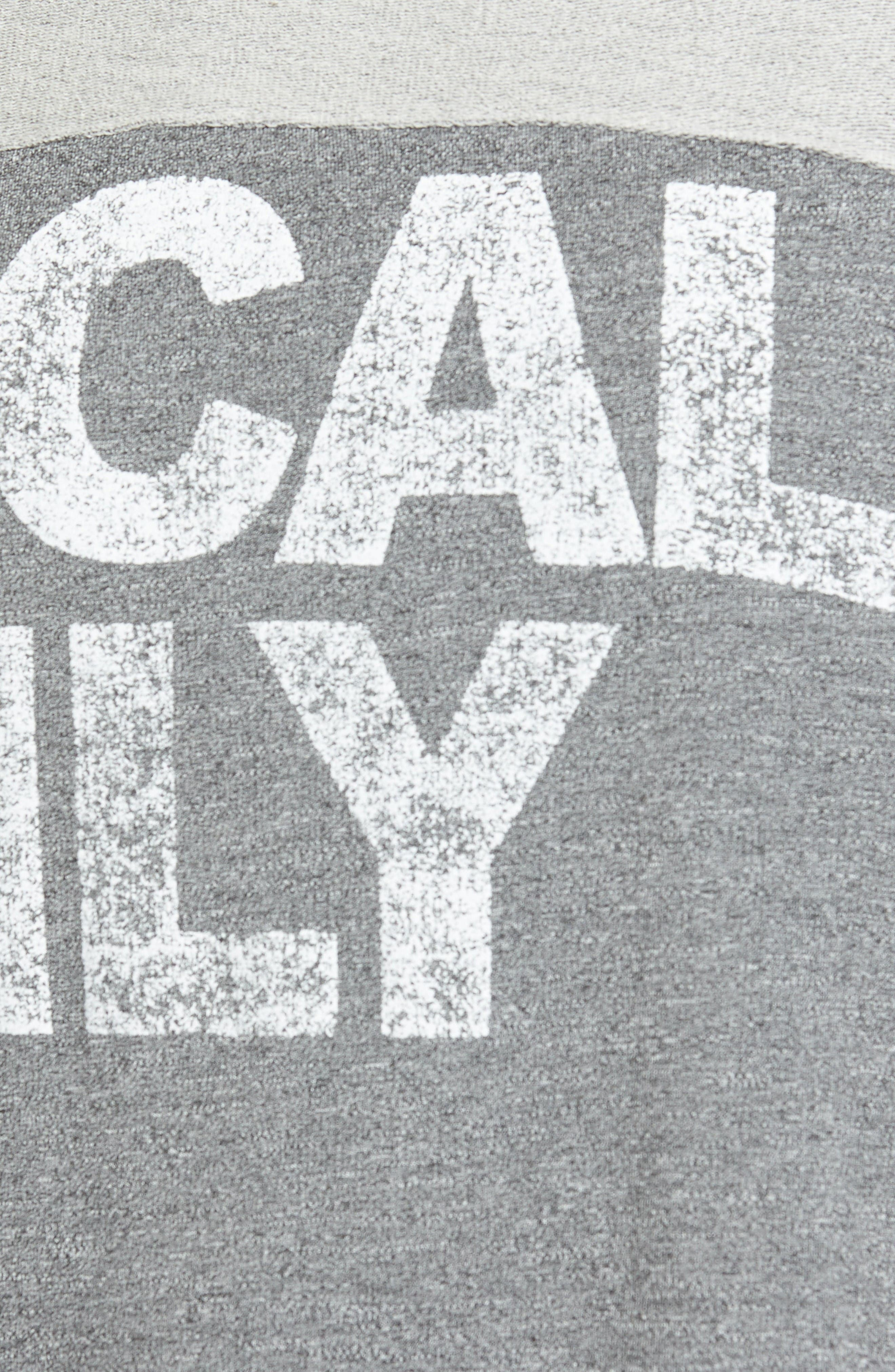Alternate Image 5  - Sundry Locals Only Crop Pullover