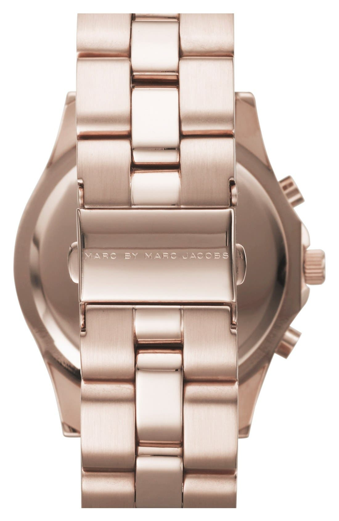 Alternate Image 2  - MARC JACOBS 'Blade' Crystal Index Watch