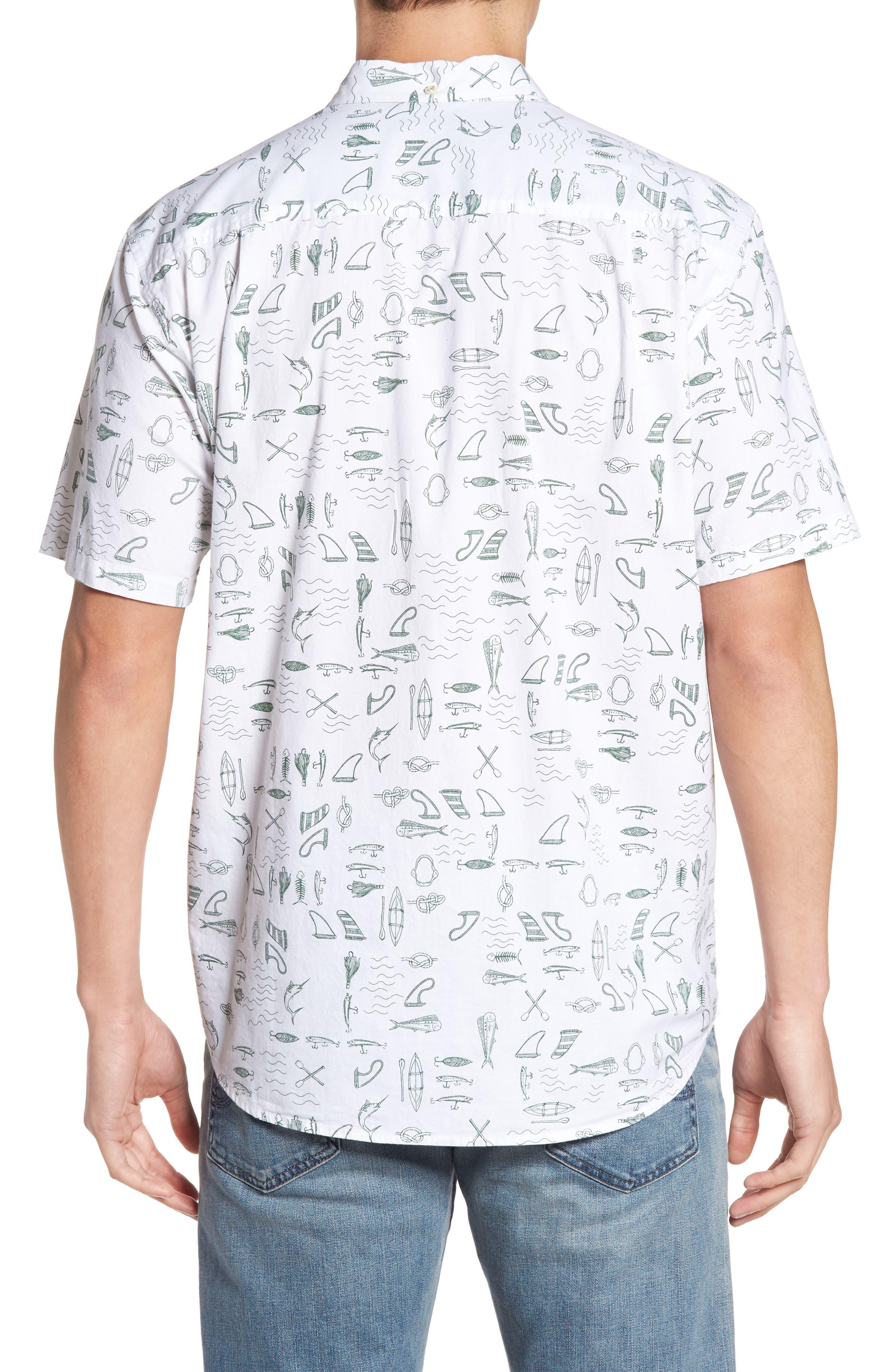 Alternate Image 2  - Jack O'Neill Old Harbor Print Sport Shirt
