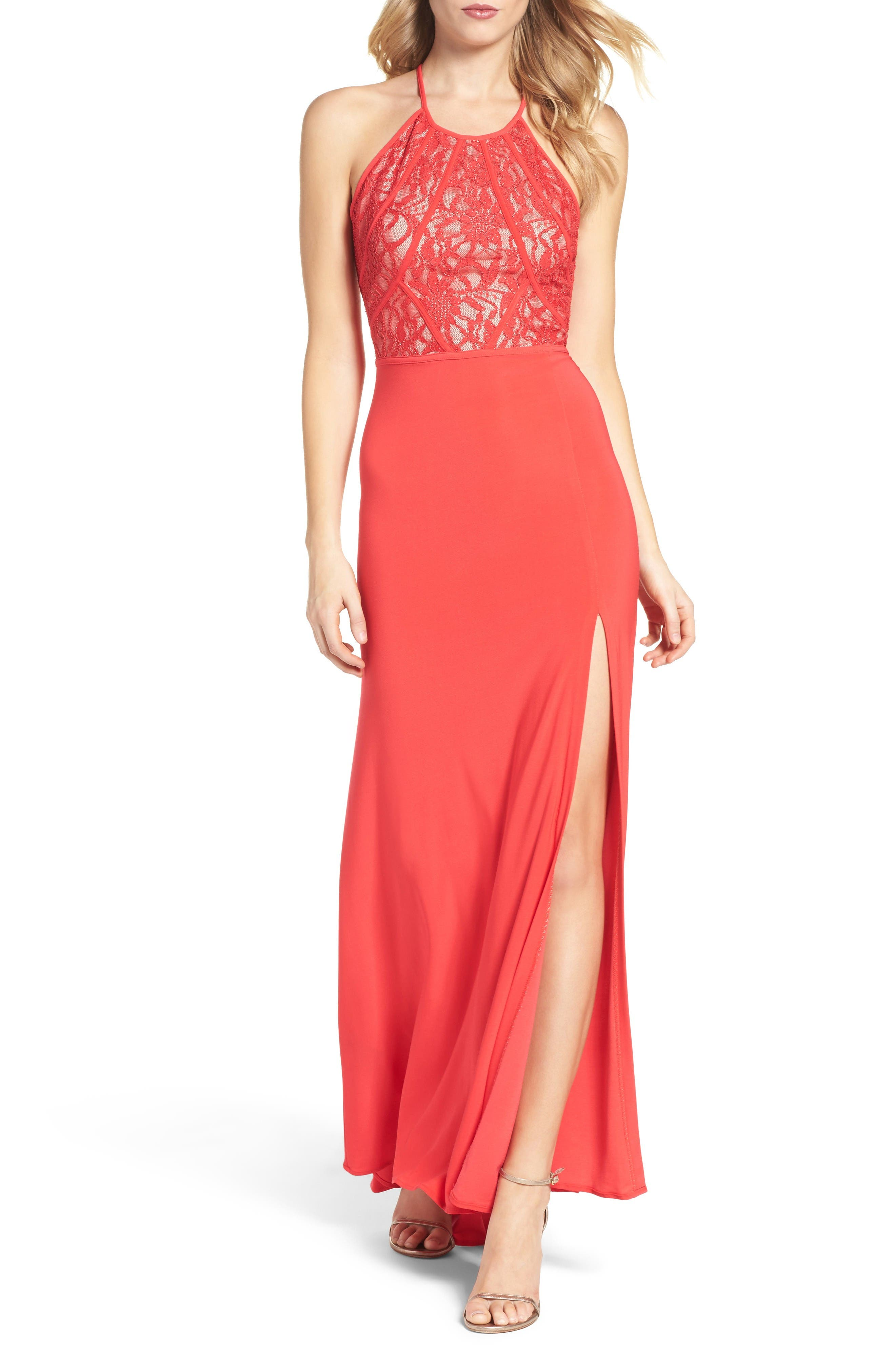 Morgan & Co. Lace Gown