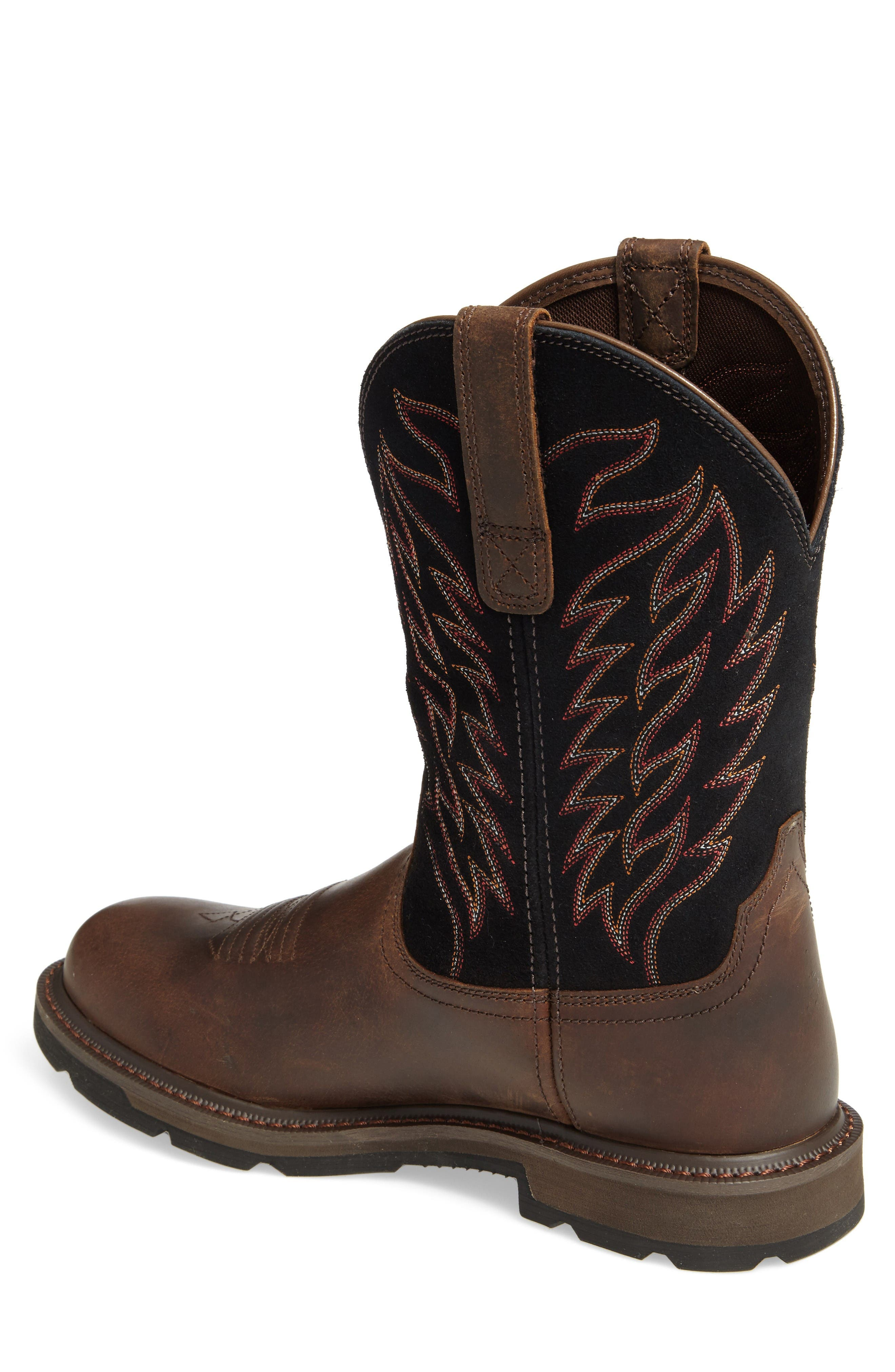 Groundbreaker Tall Boot,                             Alternate thumbnail 2, color,                             Brown