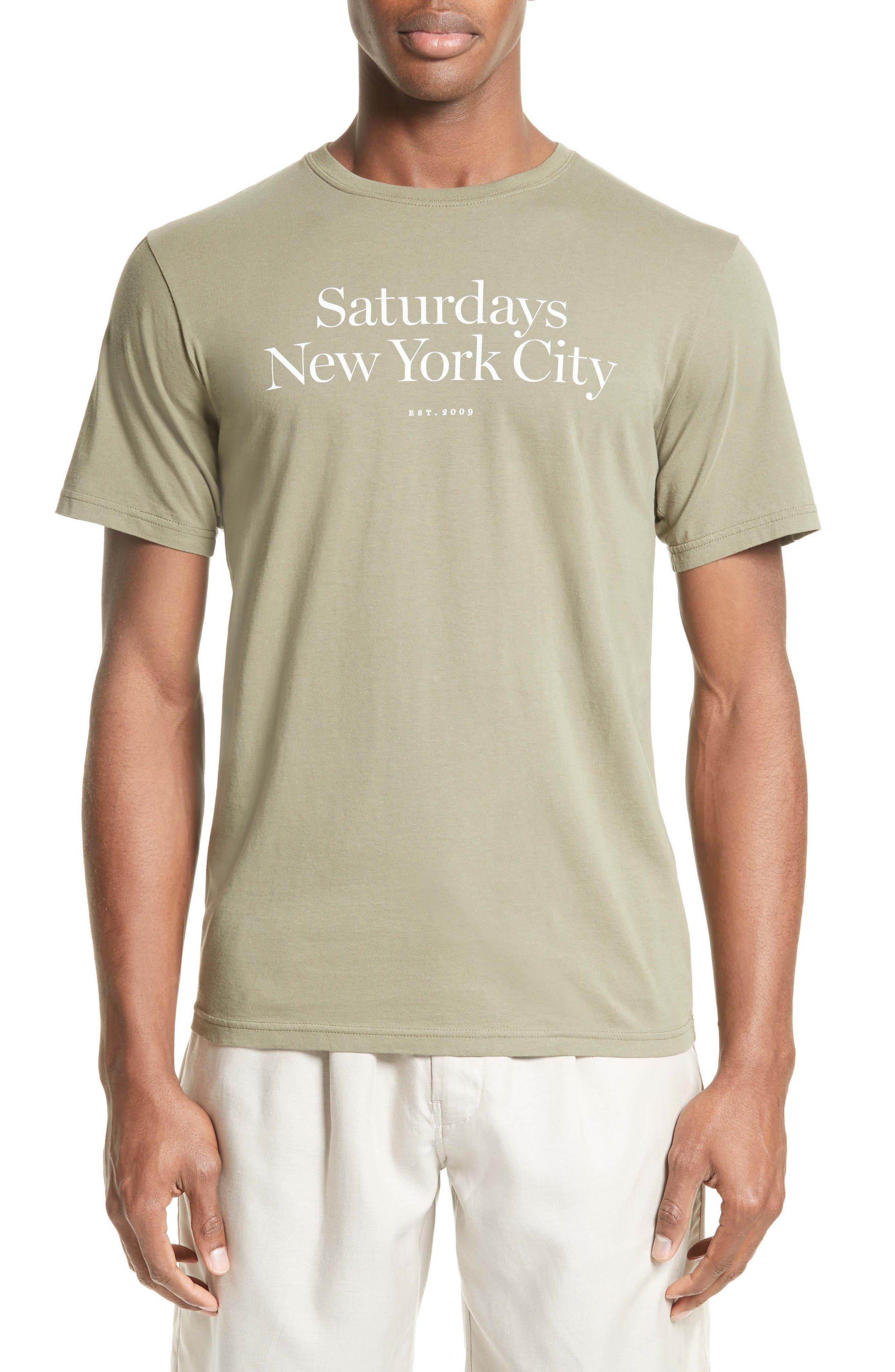 Alternate Image 1 Selected - Saturdays NYC Miller T-Shirt