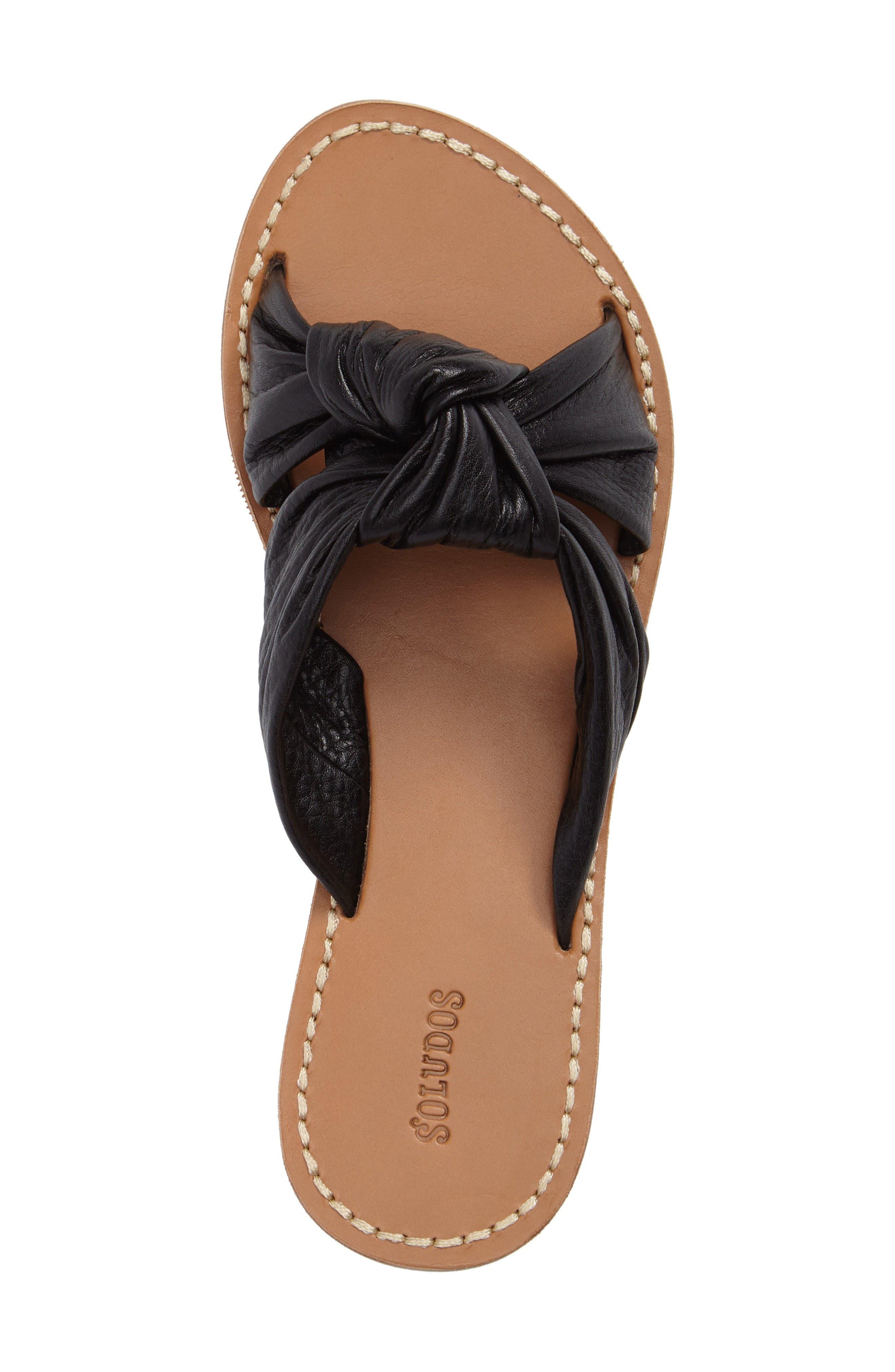 Alternate Image 5  - Soludos Knotted Slide Sandal (Women)