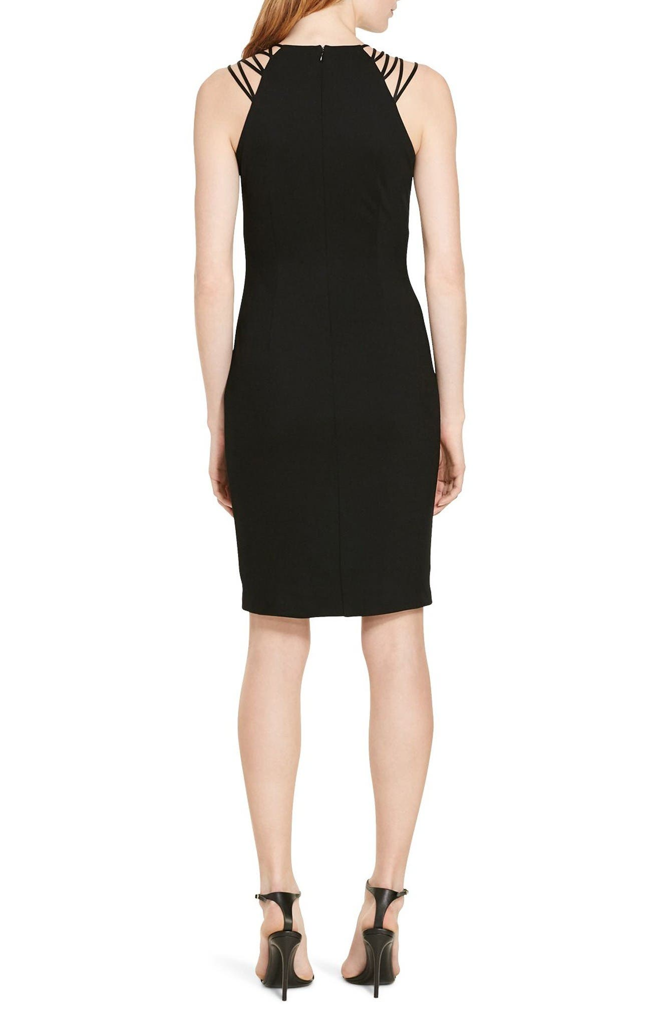 Alternate Image 2  - Lauren Ralph Lauren Jersey Sheath Dress