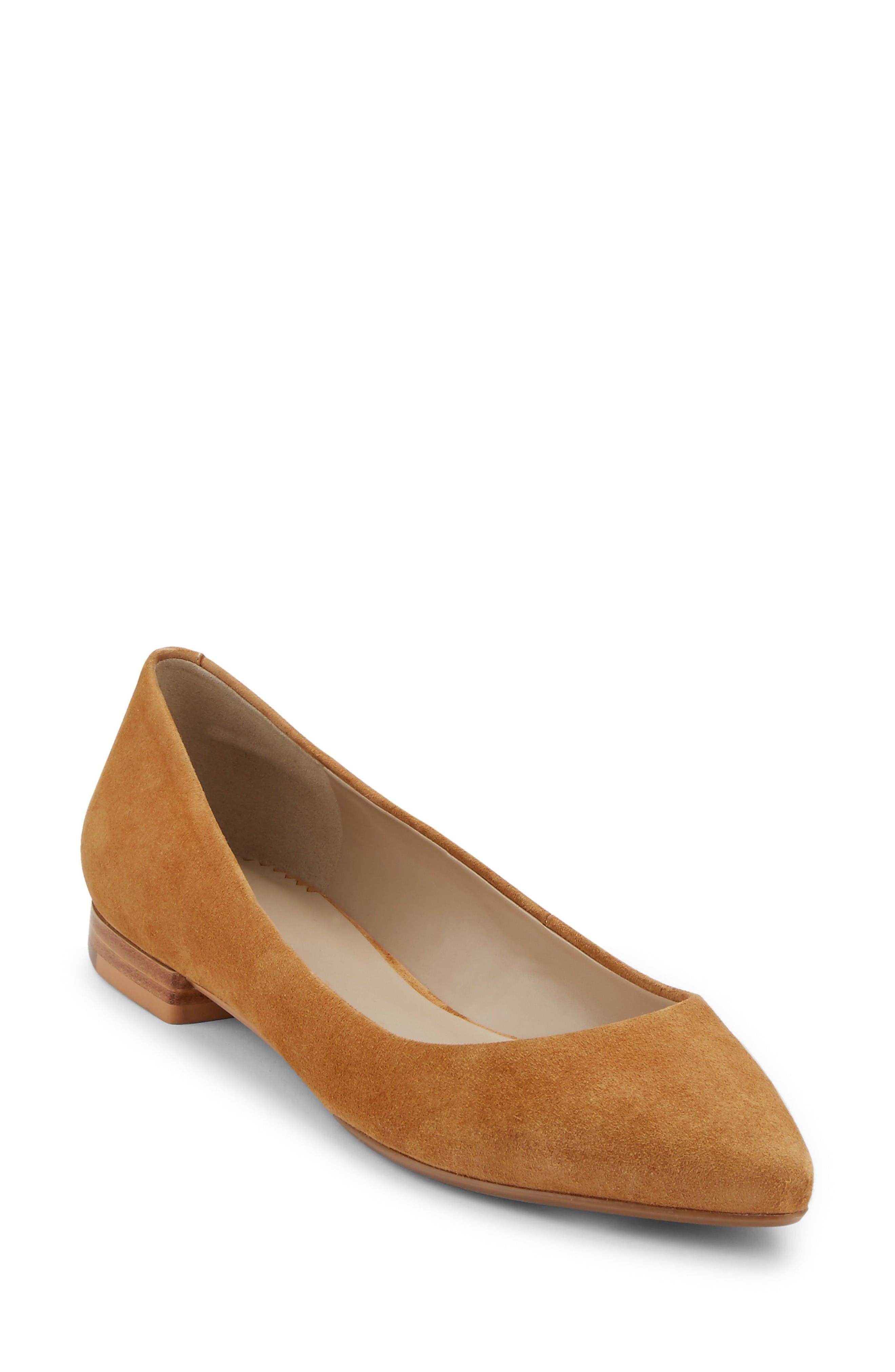 Alternate Image 1 Selected - G.H. Bass & Co. Kayla Pointy Toe Flat (Women)