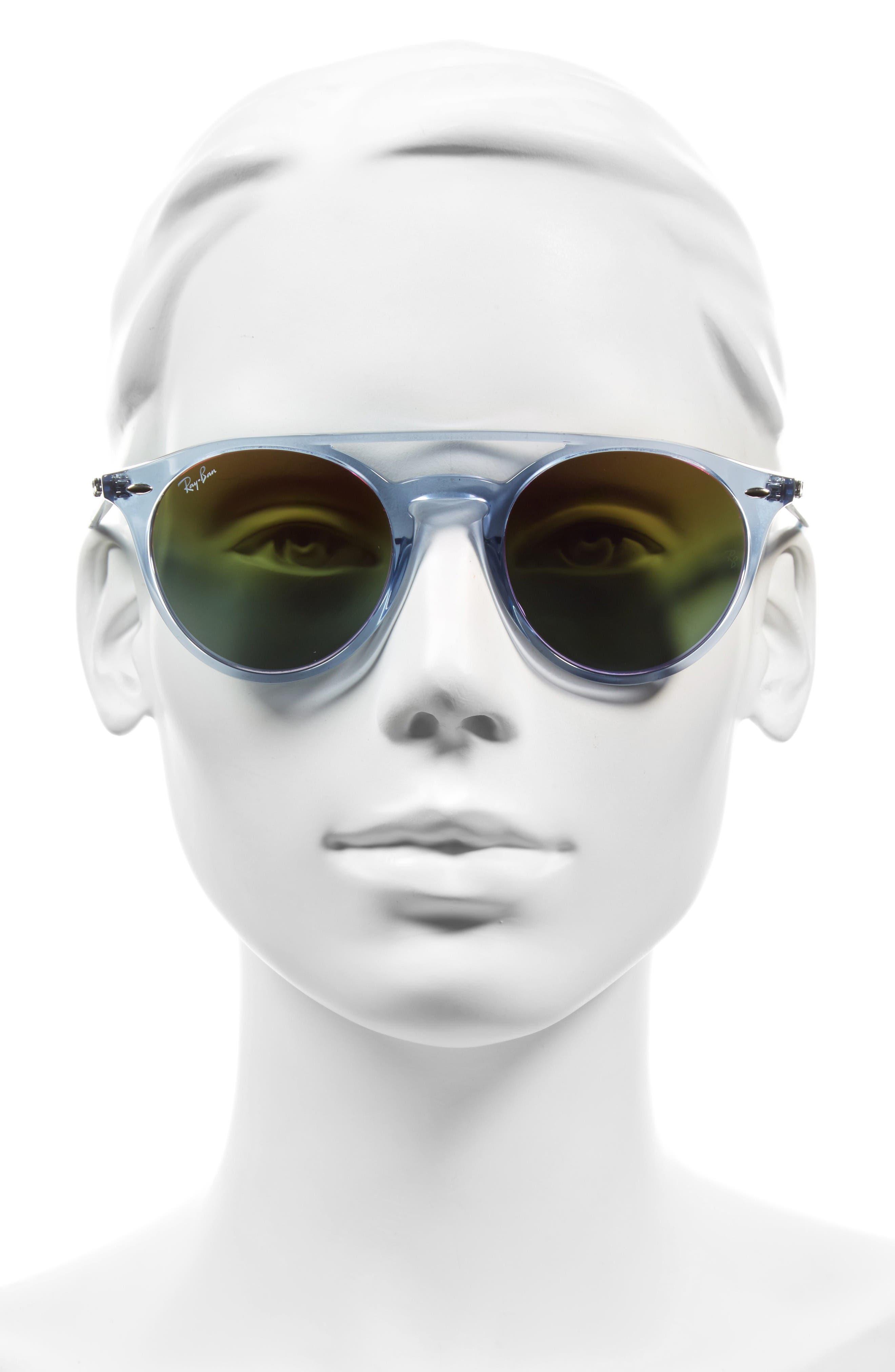 Alternate Image 3  - Ray-Ban 51mm Mirrored Rainbow Sunglasses