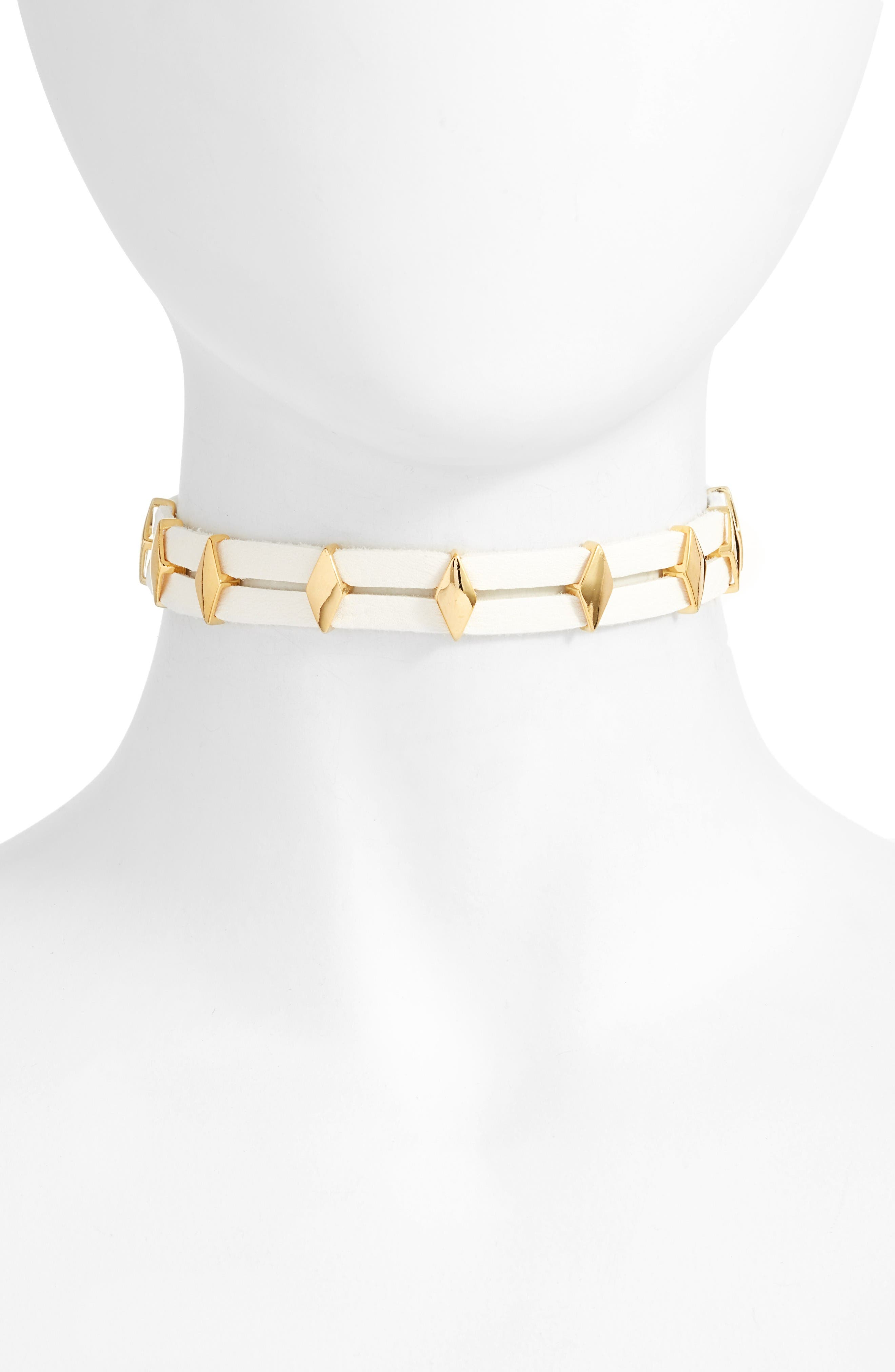 Vanessa Mooney Monroe Leather Choker