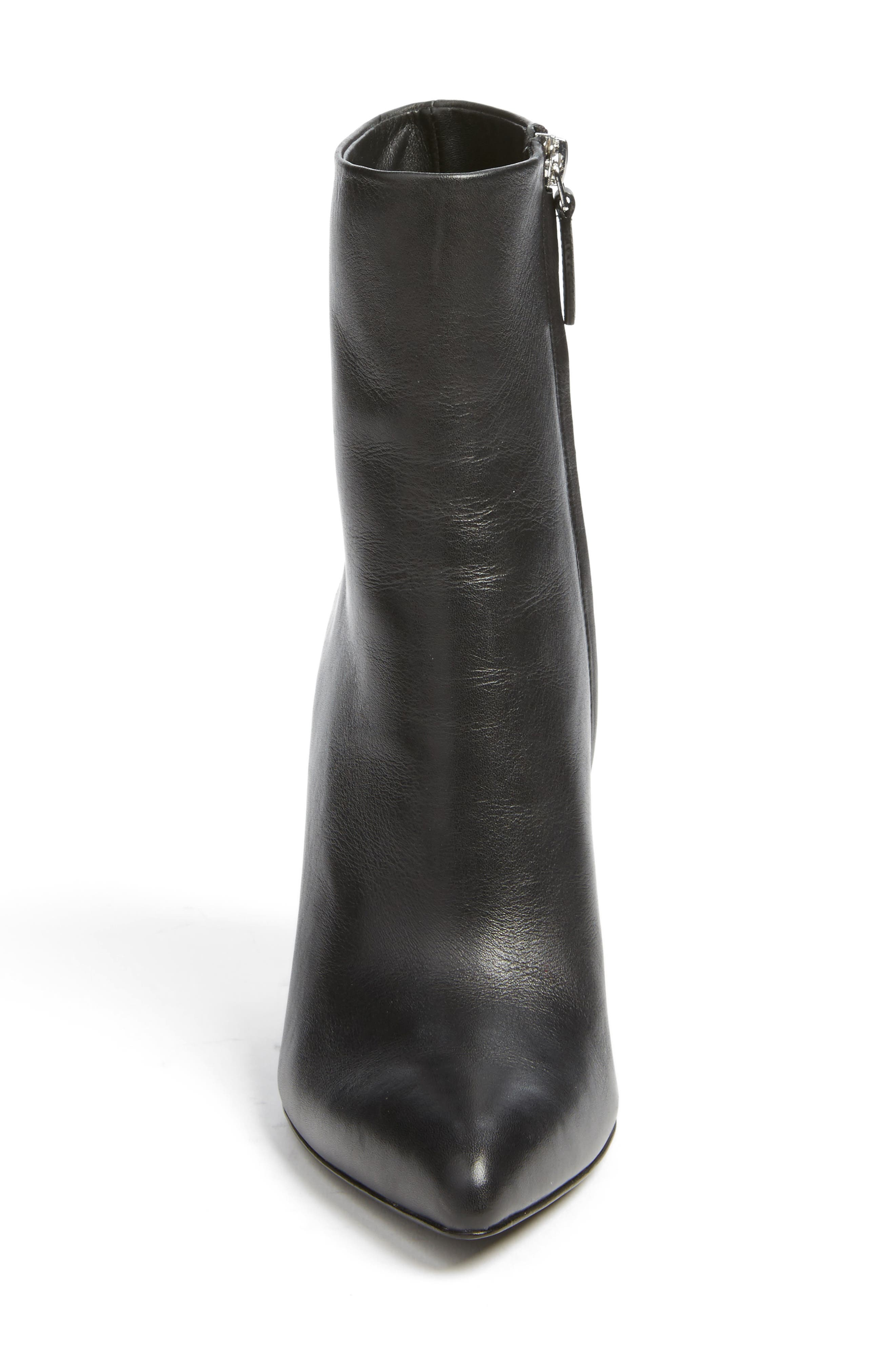 Kirby Boot,                             Alternate thumbnail 4, color,                             Black Leather